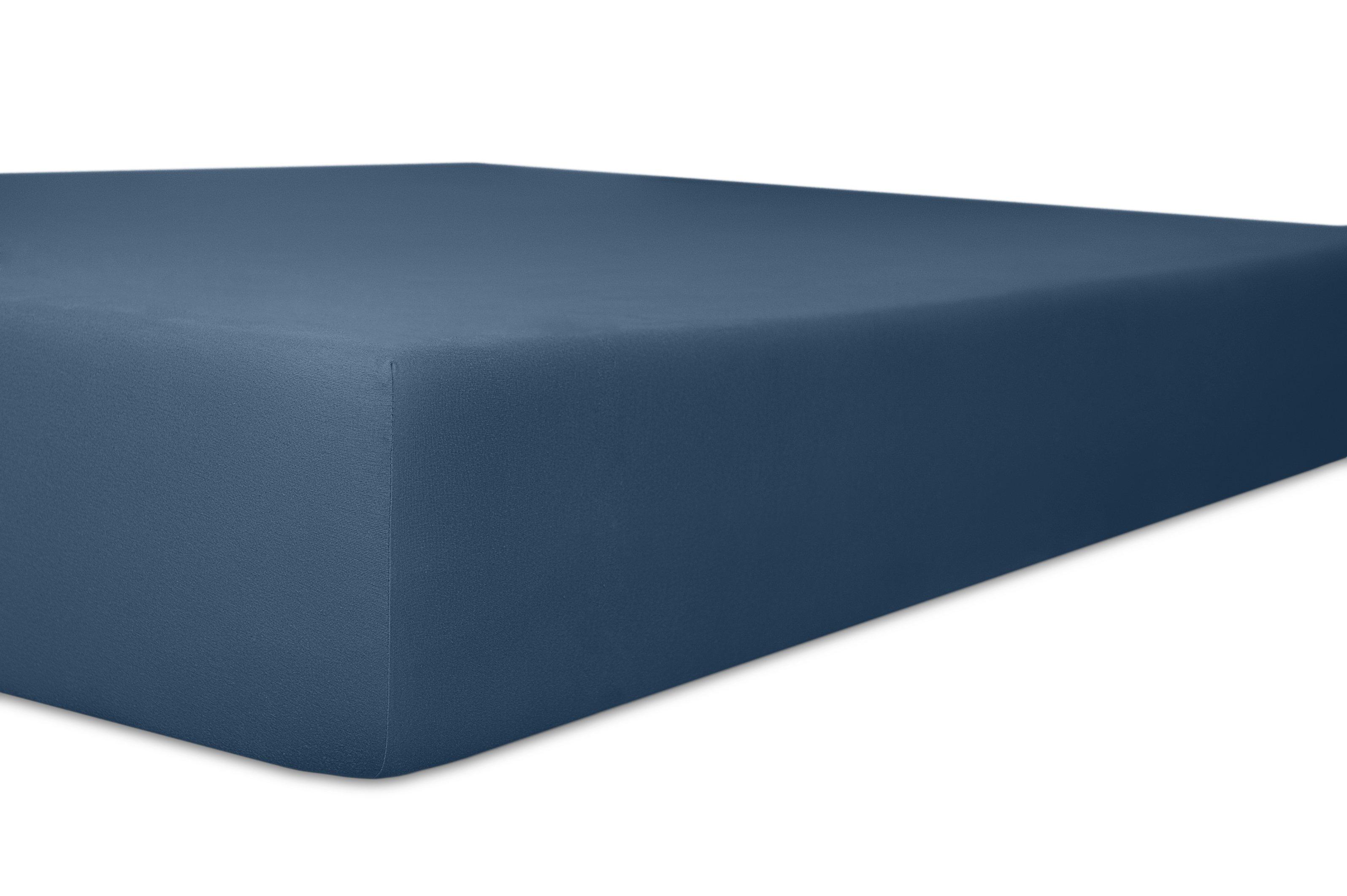 Spannbetttuch marine,180x200cm