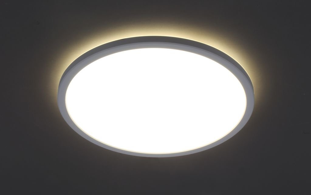 Panel, 1-flg.,LED, 18 W, 2400 lm, 4000 K, 2,8 x 29,3 cm, Weiß