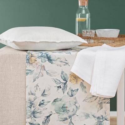 Decken, Tischdecken & Kissen