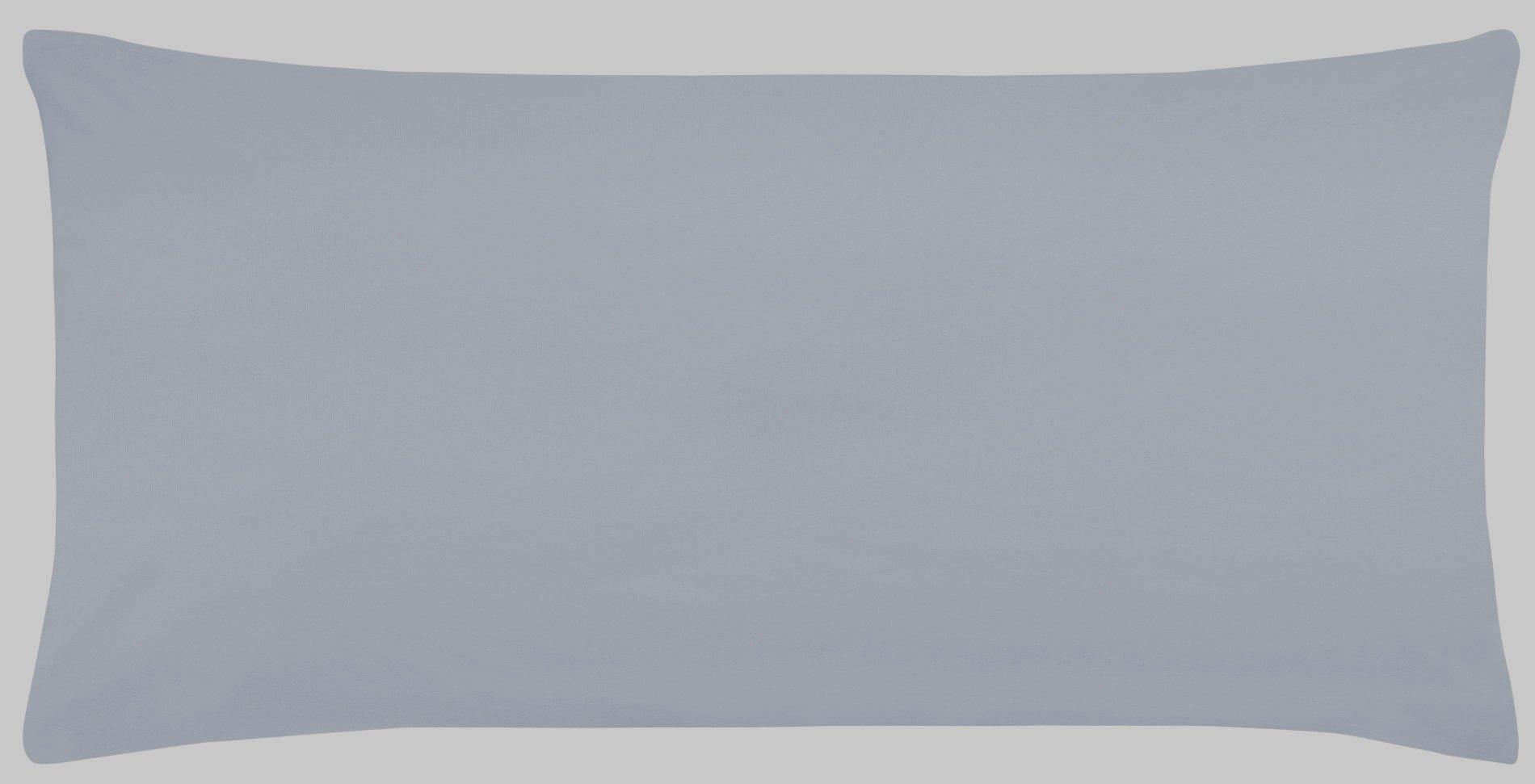 K.-Bezug eisblau 40x80cm