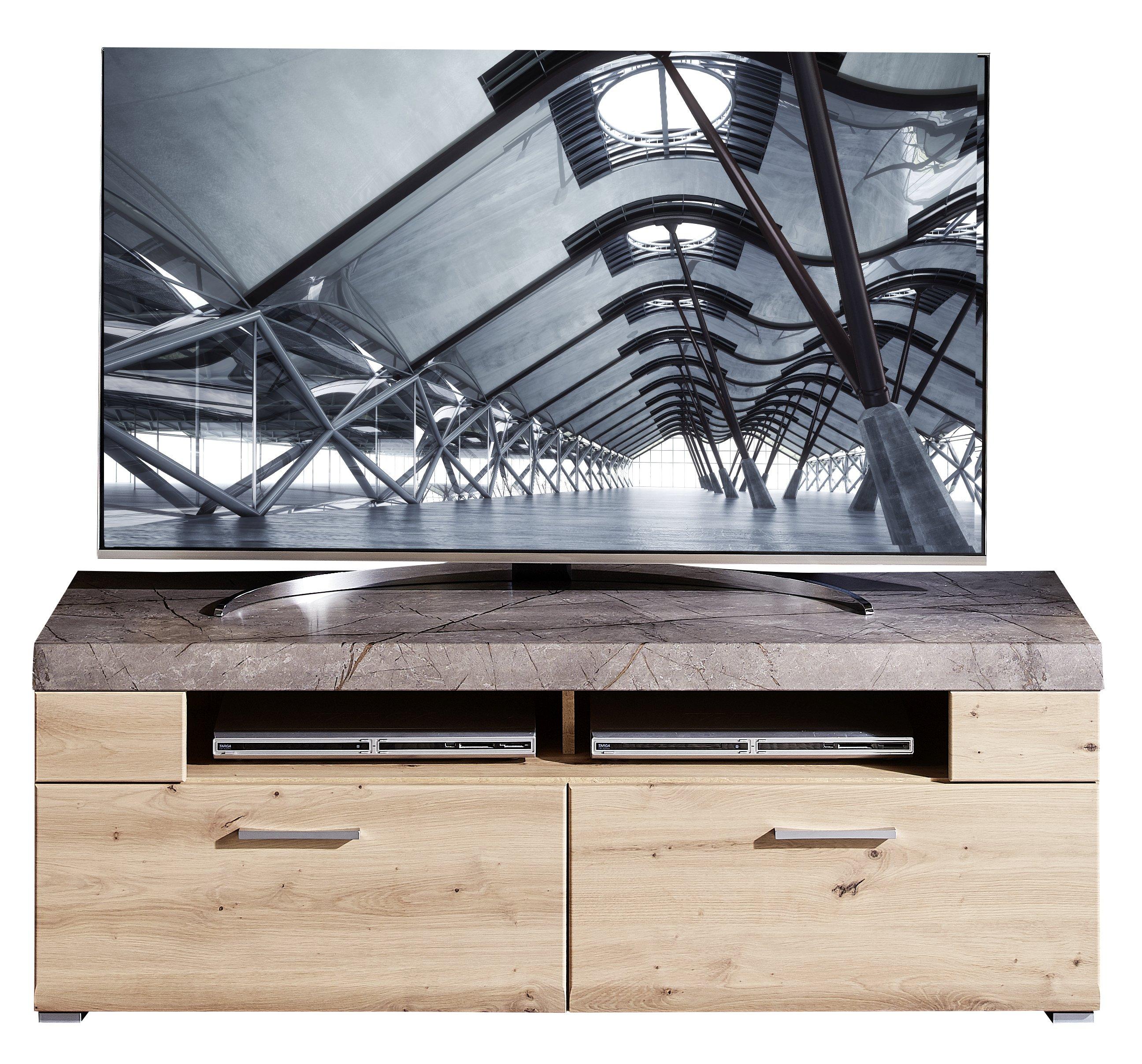 SPIDER PLUS TV-Unterteil Artisan Eiche/Caspio dunk B/H/T ca. 140/51/47 cm