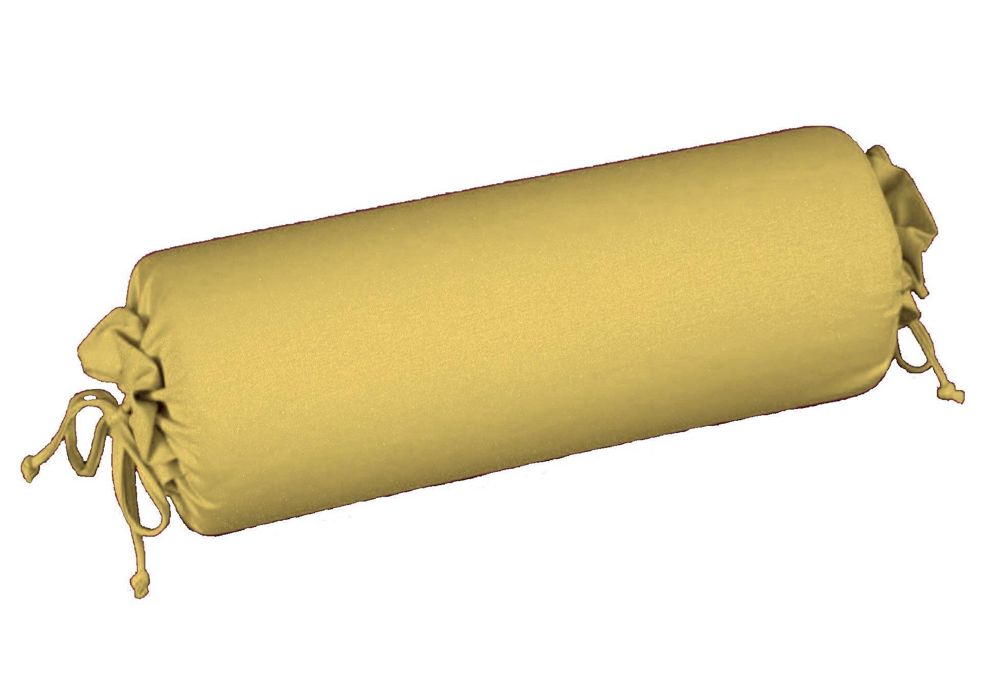 Edel-Zwirn-Jersey curry B15cm