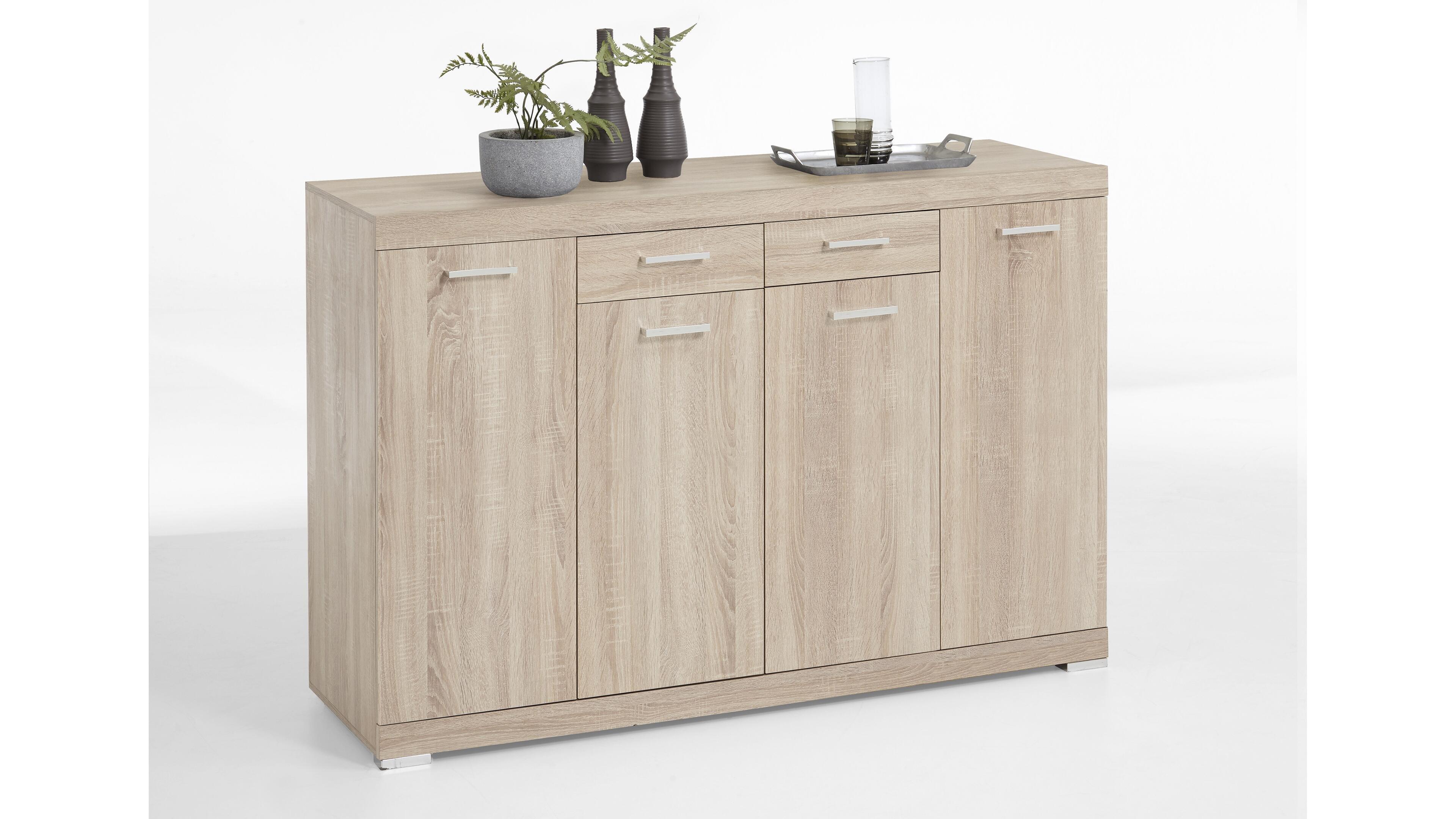 Sideboard Bristol 3 XL Holzfarben