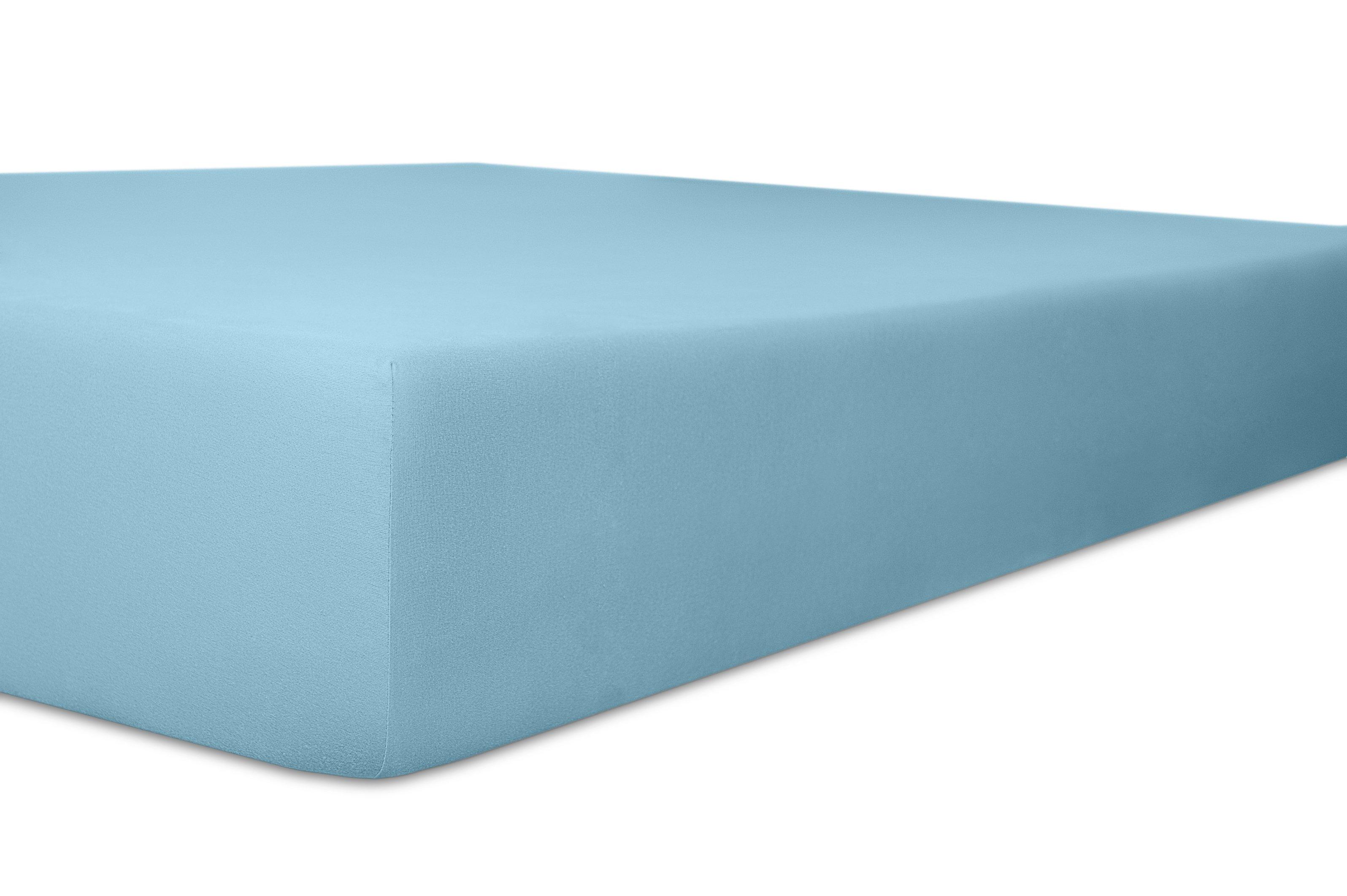 Spannbetttuch blau,180x200cm