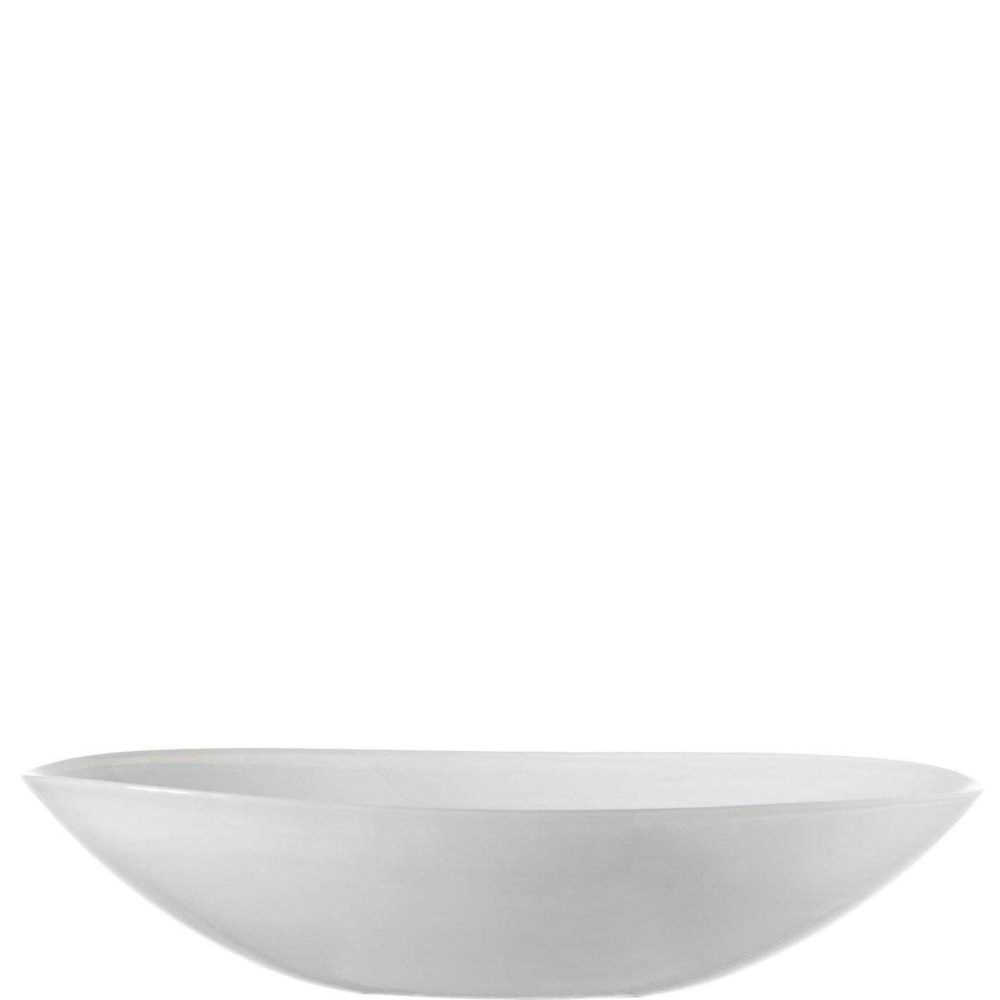 Schale oval 32 weiß Alabastro ALABASTRO