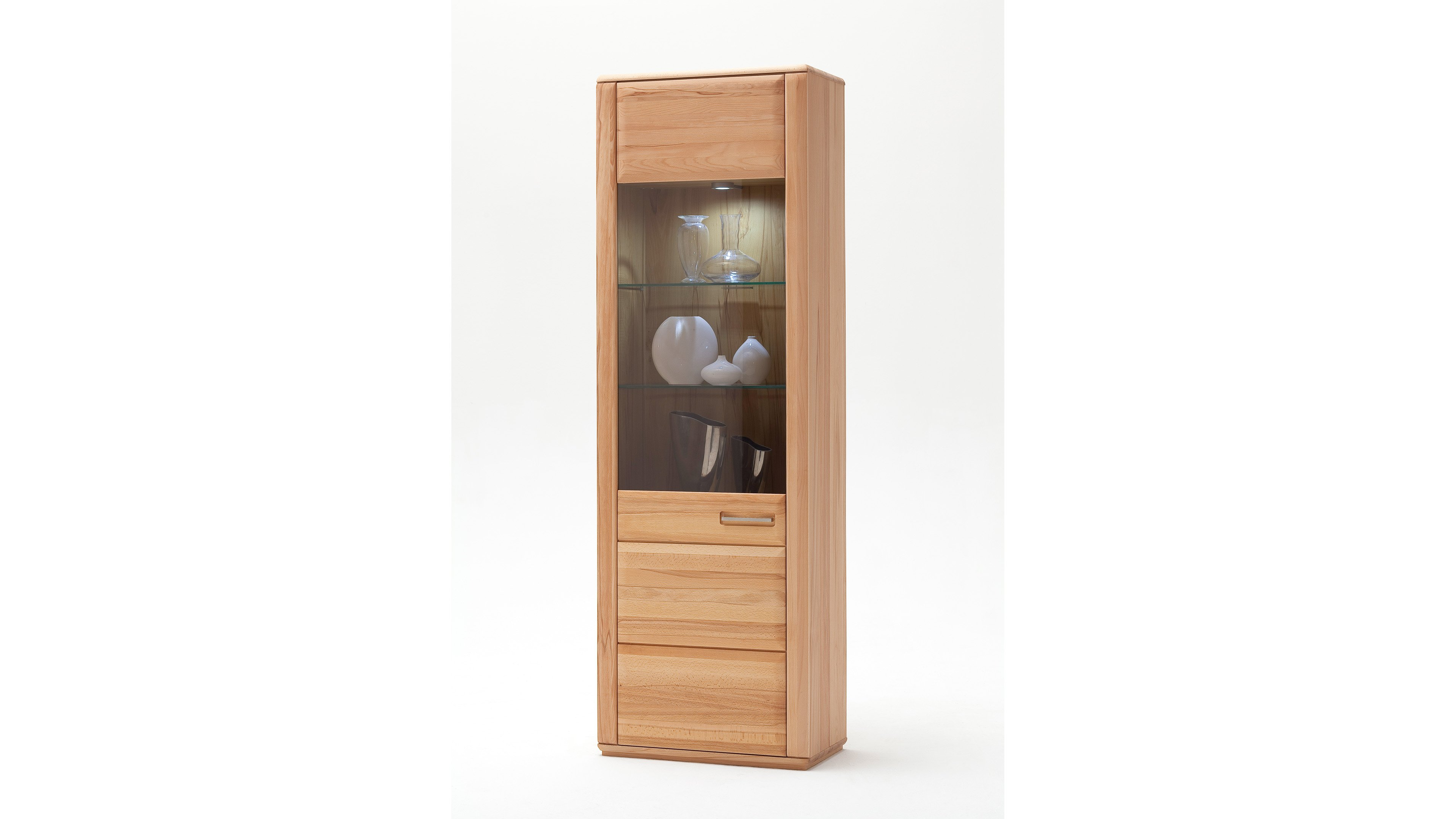 Vitrine Sena Holzfarben