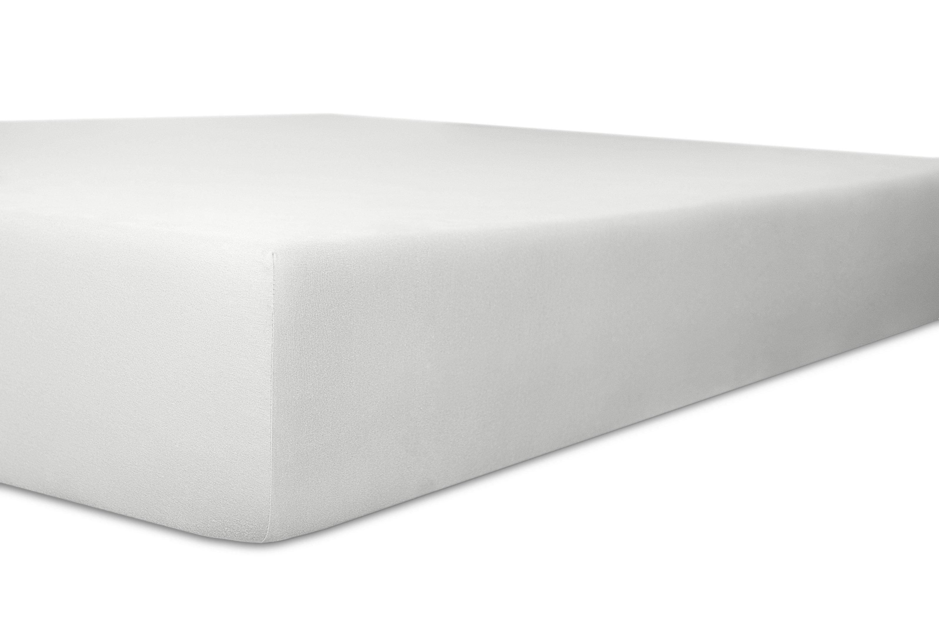 Spannbetttuch Standard weiss 50% Baumwolle / 45% Modal / 5% Elasthan