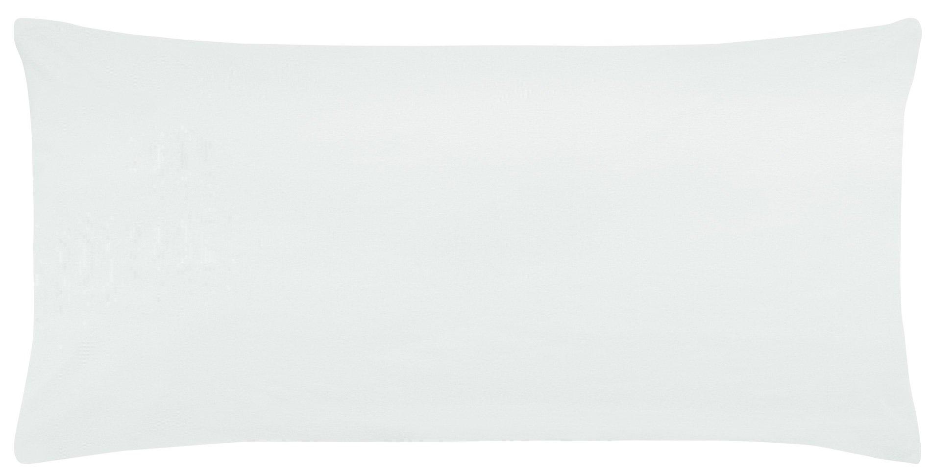 Edel-Zwirn-Jersey weiss B40cm