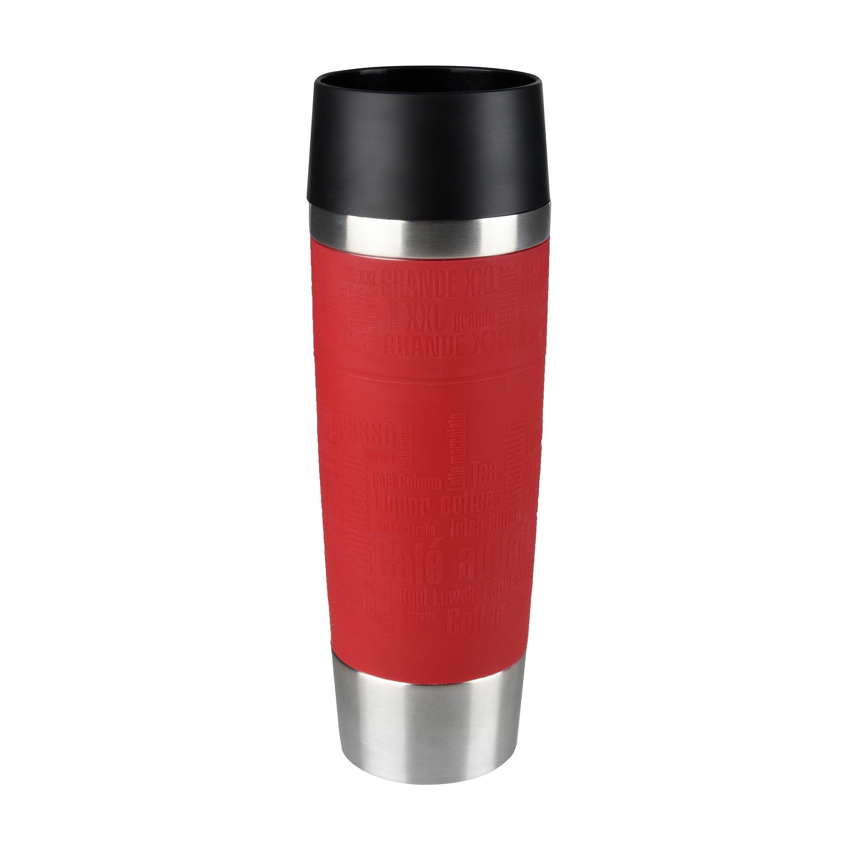 TRAVEL MUG Grande 0,5L Manschette rot Standard