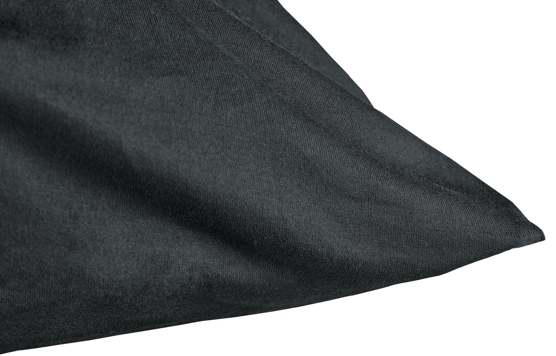 K.-Bezug onyx 80x80cm