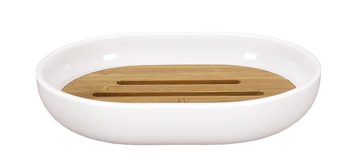 Seifenschale Timber Weiss B:12,2cm