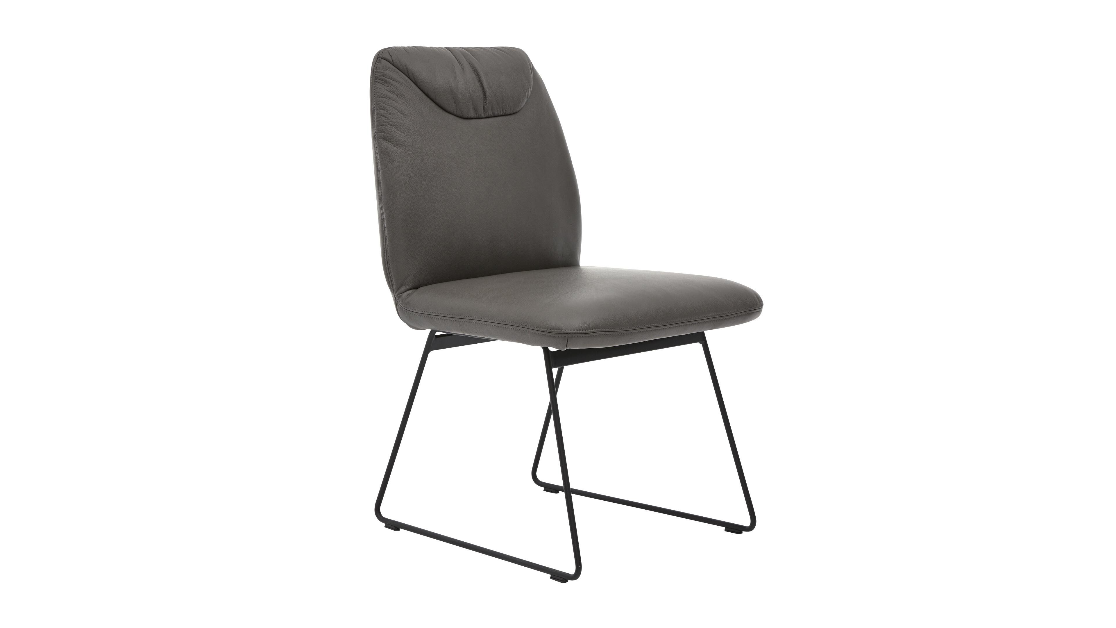 Stuhl Interliving 5501 Leder,MetallEisen/Metall