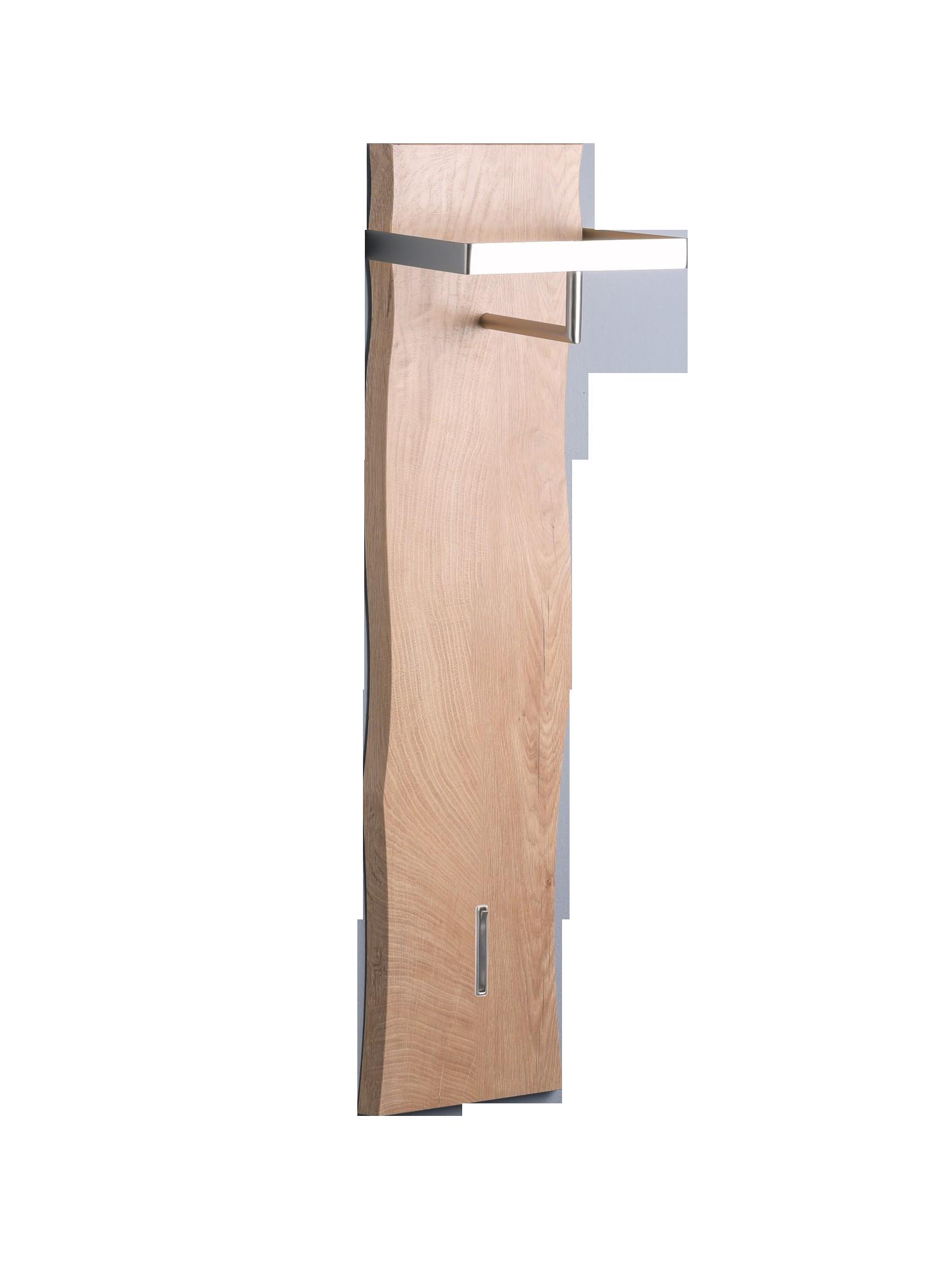 Garderobe Zürs 1,MDF Dekor Eiche,Holzwerkstoff