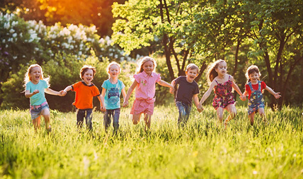 Kinderbetreuung entdecken