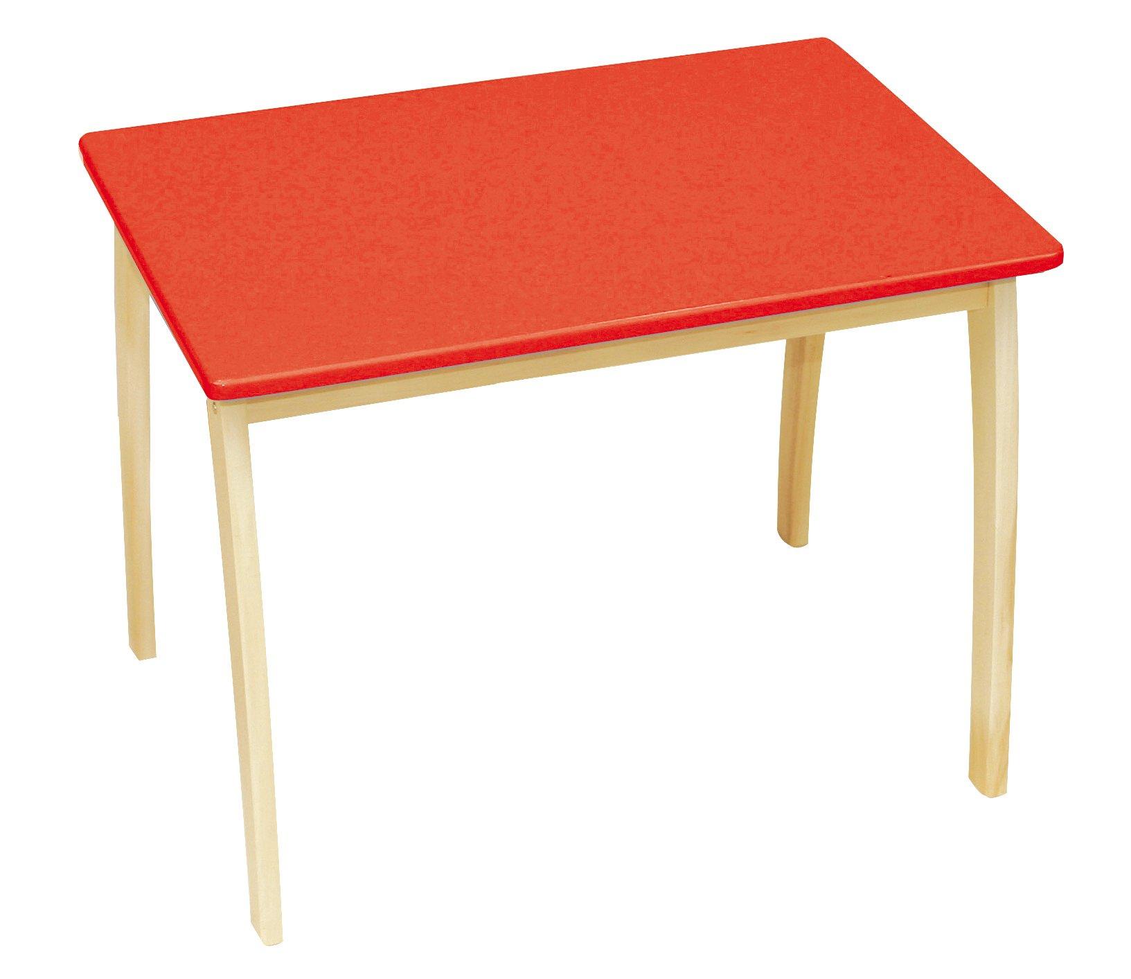 Kindertisch  rot