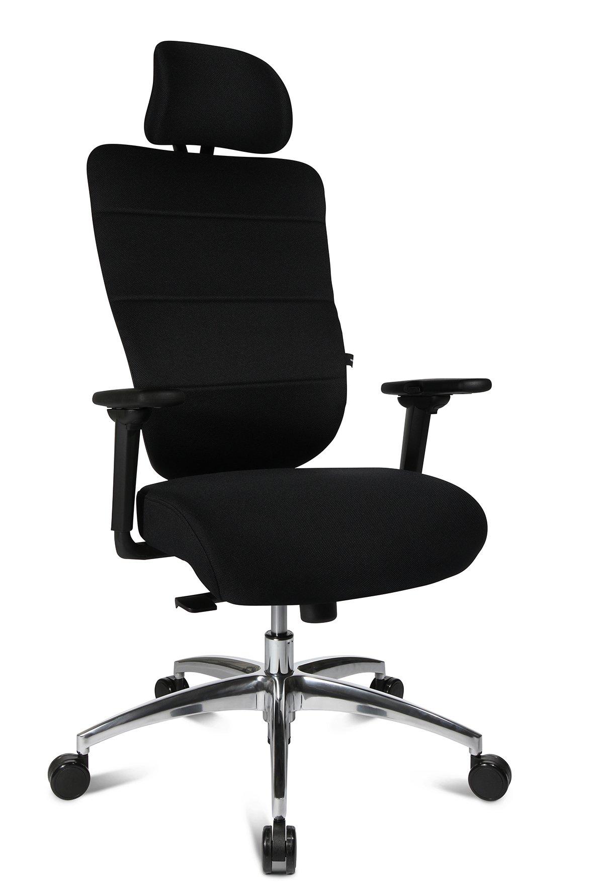 Drehstuhl Ortho Sedis Comfort 30,schwarz,Aluminium