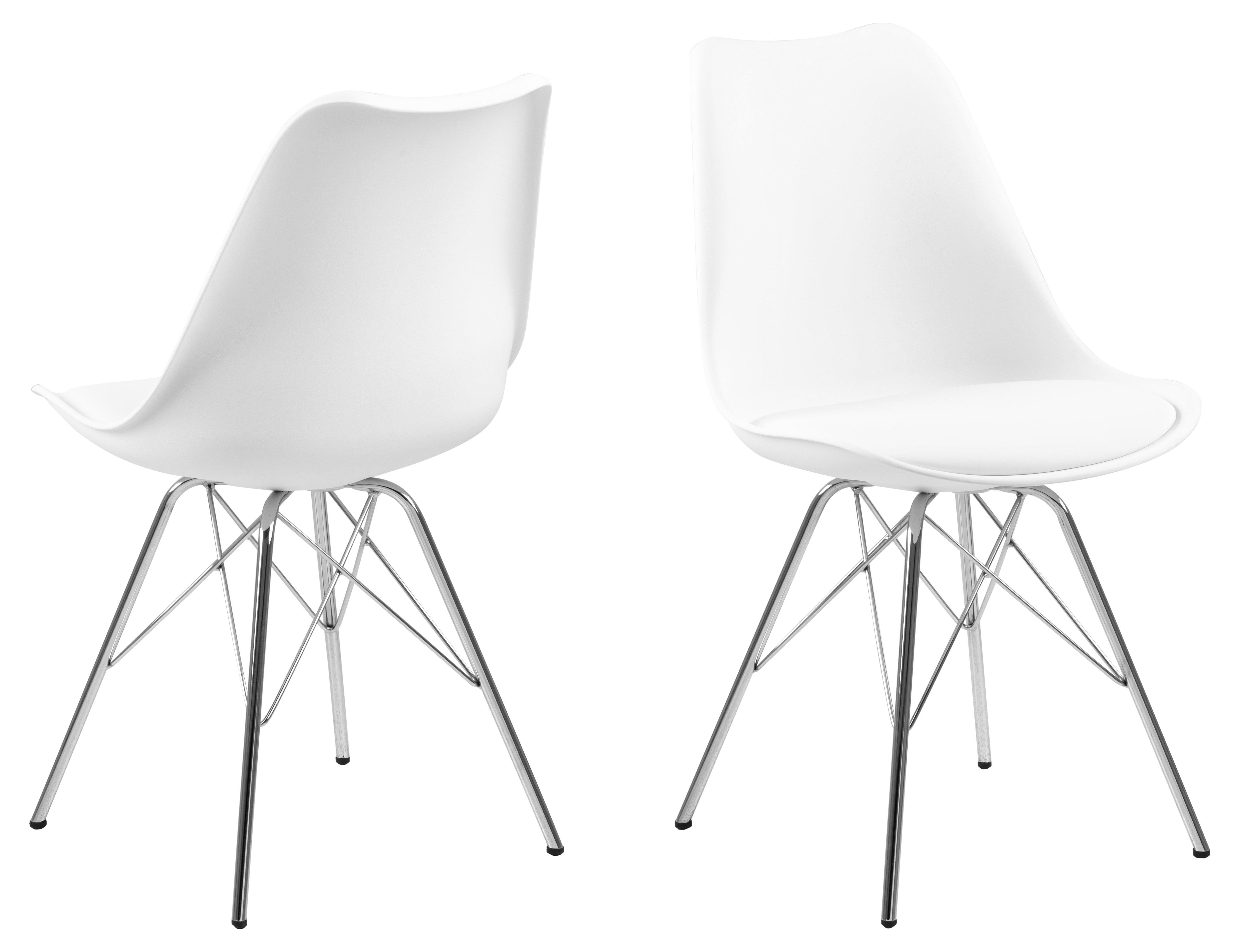 Eris Stuhl, weiss, Kunststoff