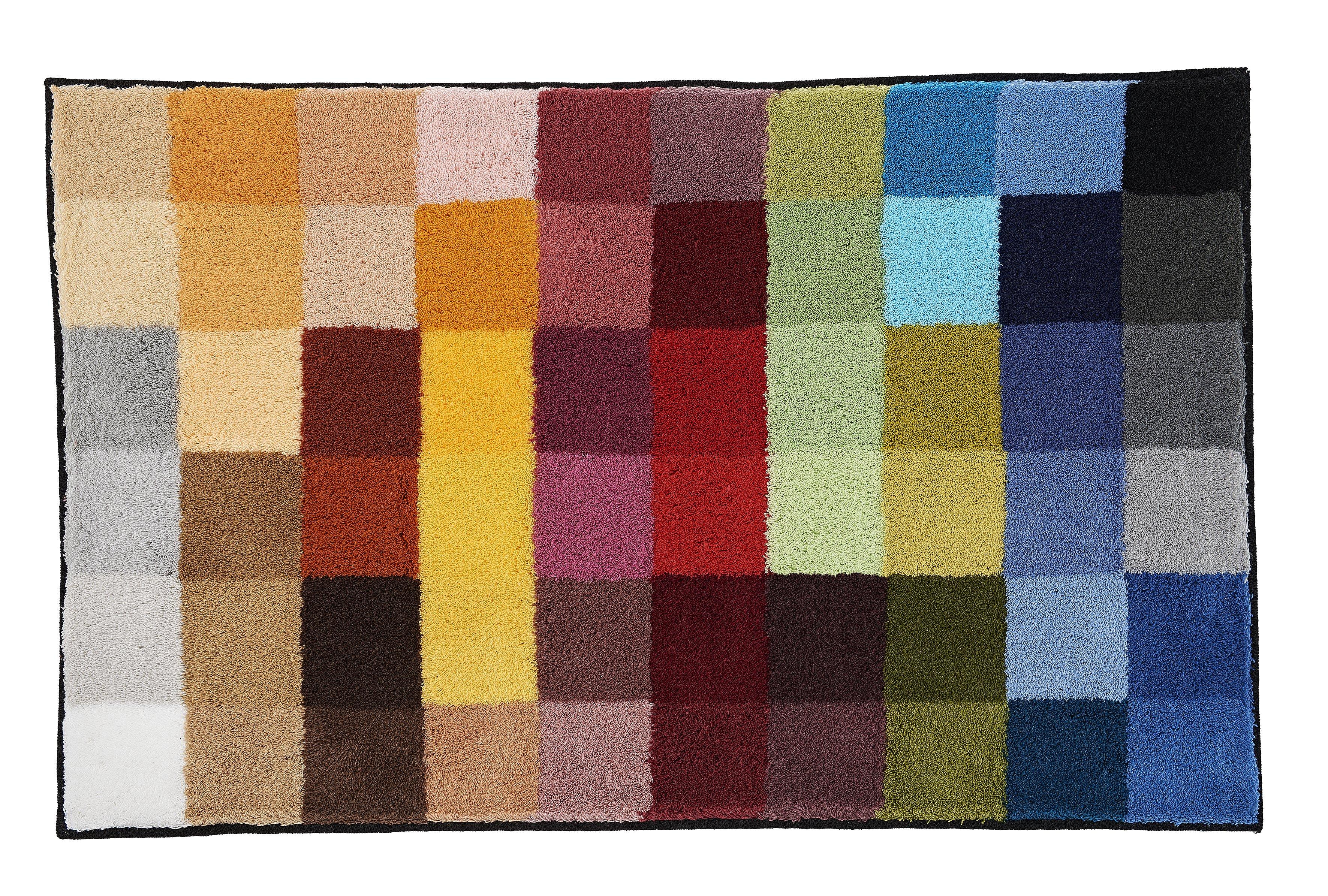 Badteppich Cubetto Multicolor B:75cm