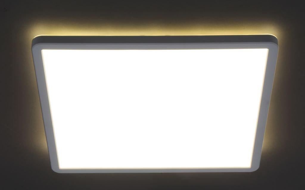 Panel, 1-flg.,LED, 22 W, 3000 lm, 4000 K, 42 x 42 x 2,9 cm, Weiß