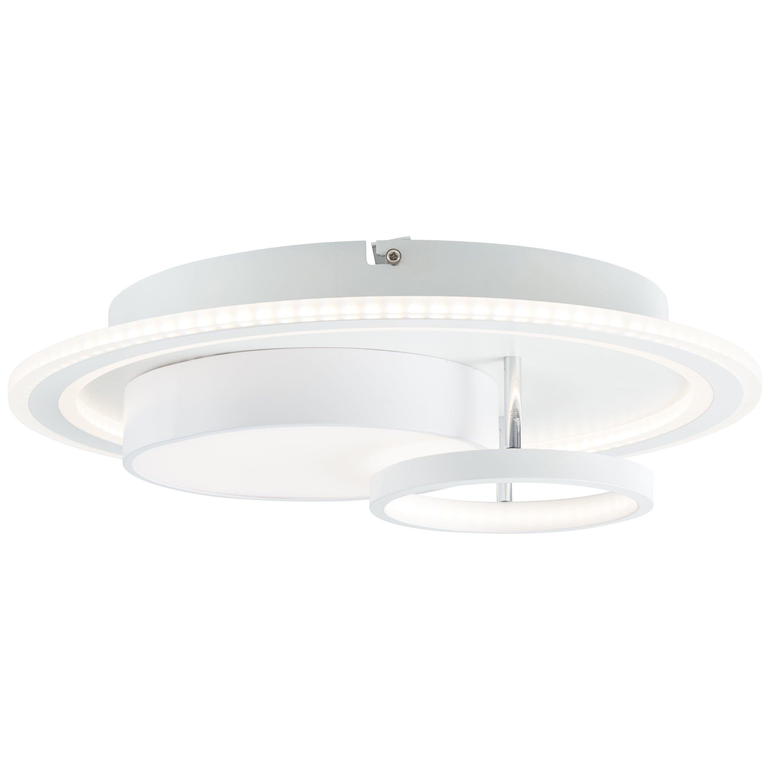 Wand-& Deckenleuchten LED SIGUNE weiß/schwarz dimmbar