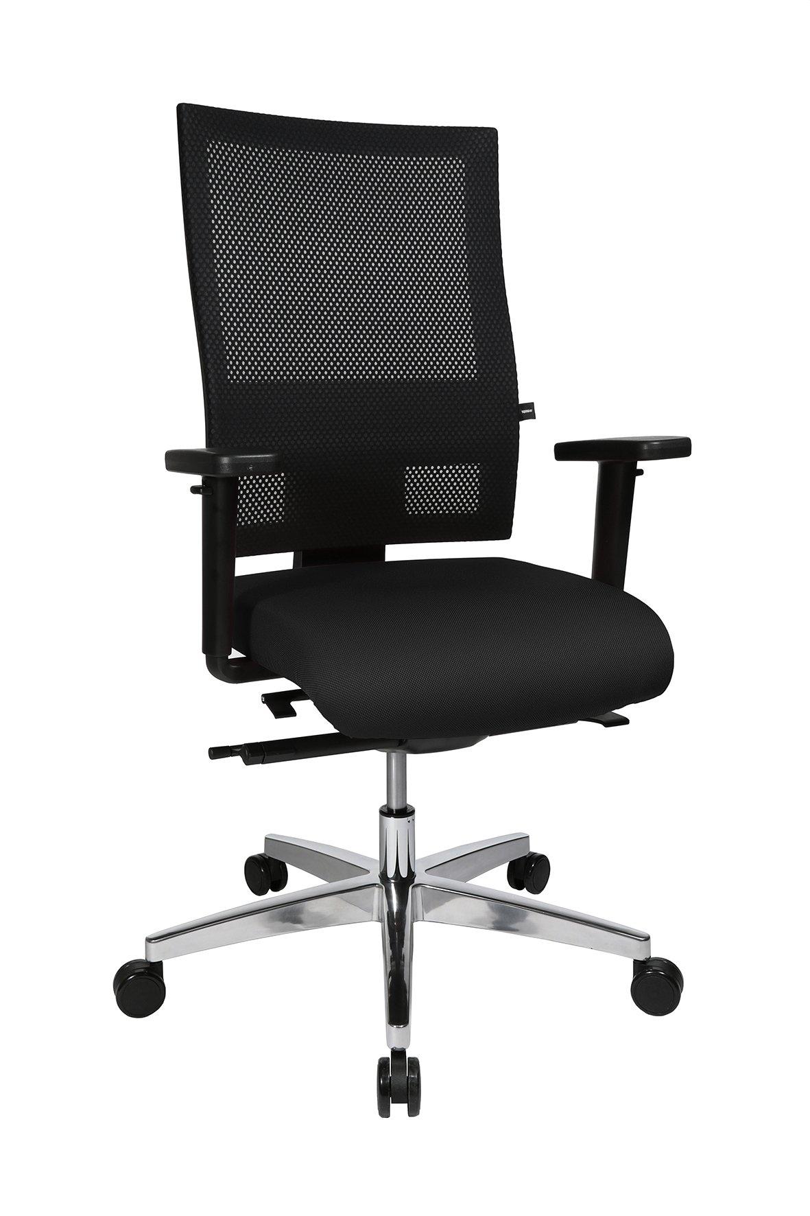 Drehstuhl Sitness Profi 200,schwarz,Aluminium
