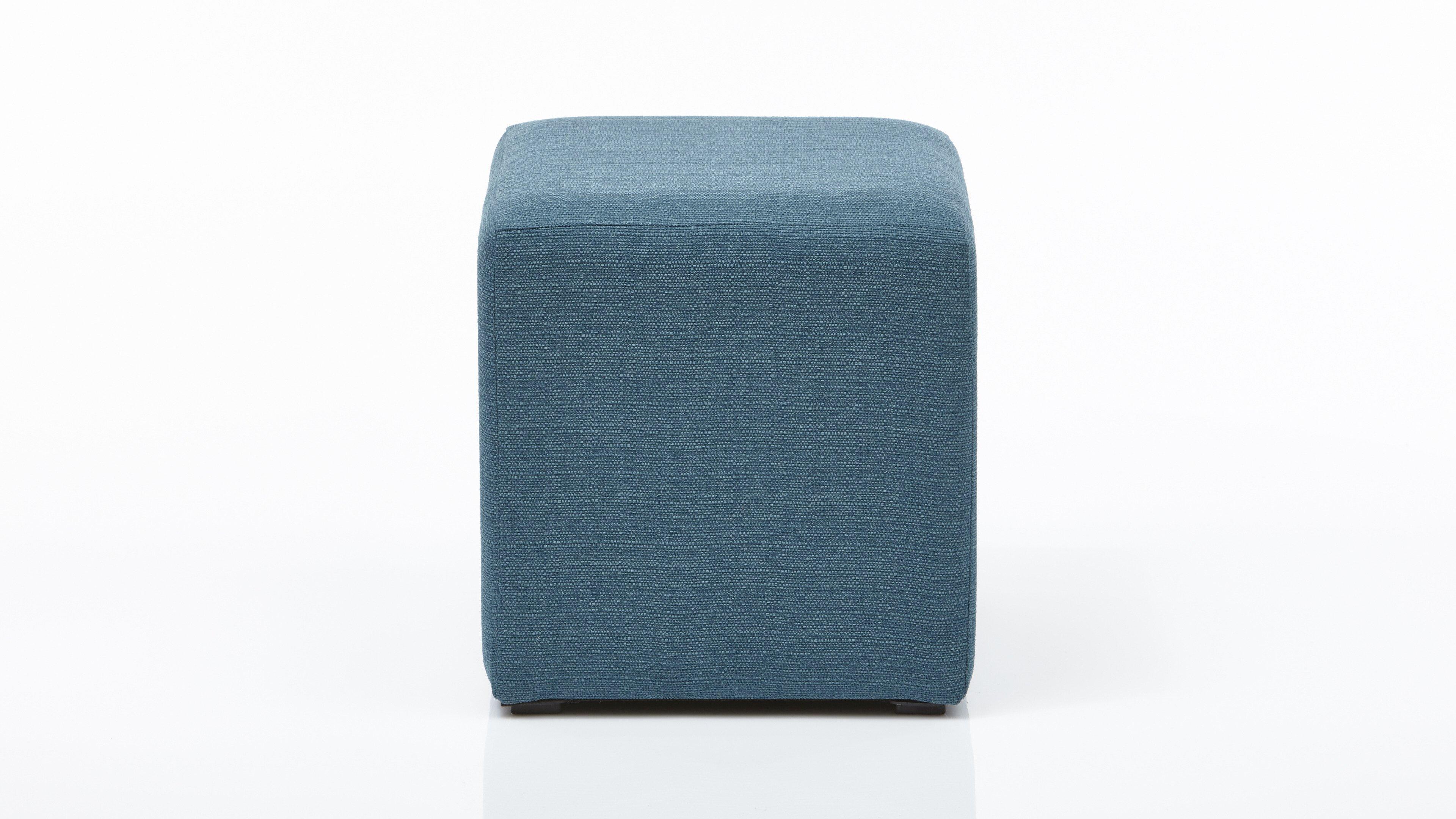 Hocker Hocker  Bezug Portland 85 Azul