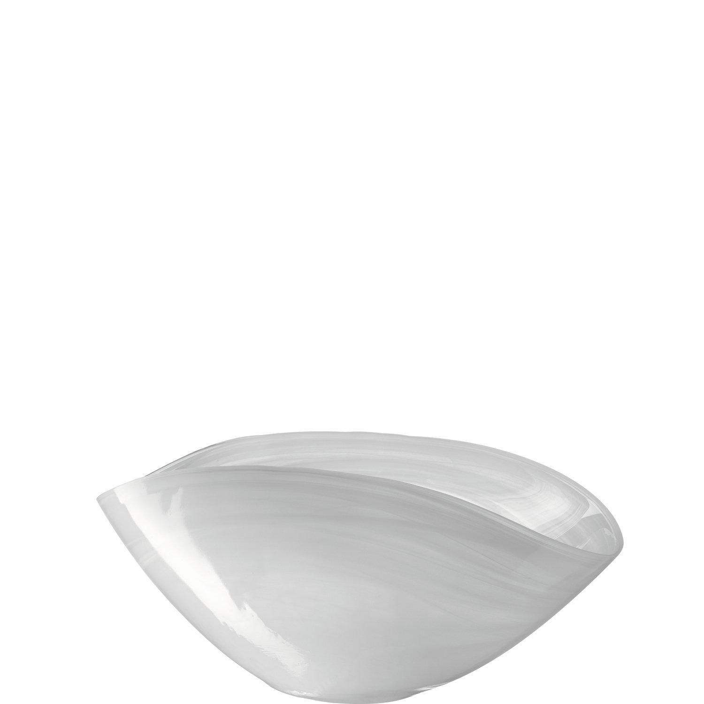 Schale 28x14 weiß Alabastro ALABASTRO
