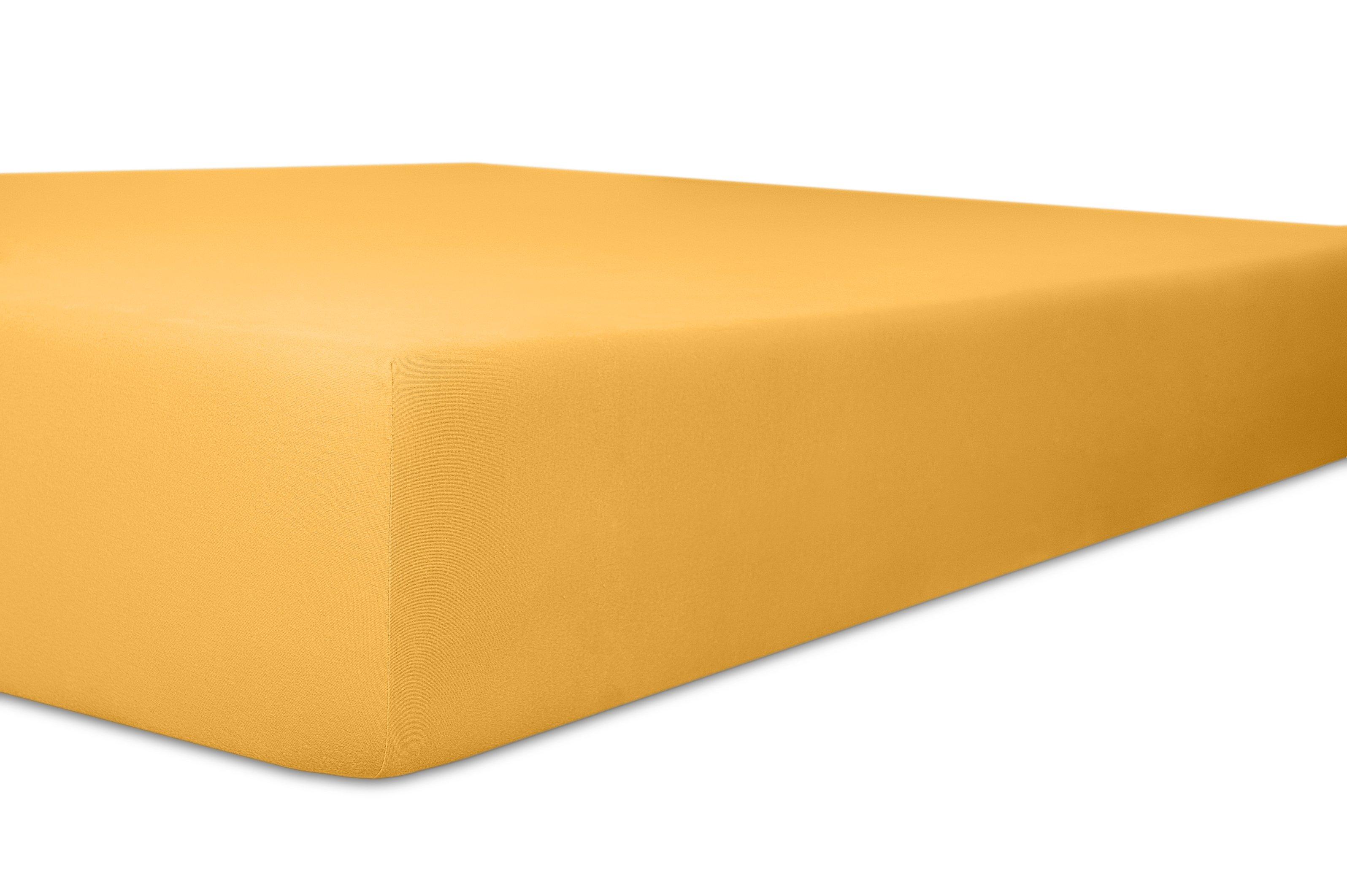 Spannbetttuch gelb,180x200cm
