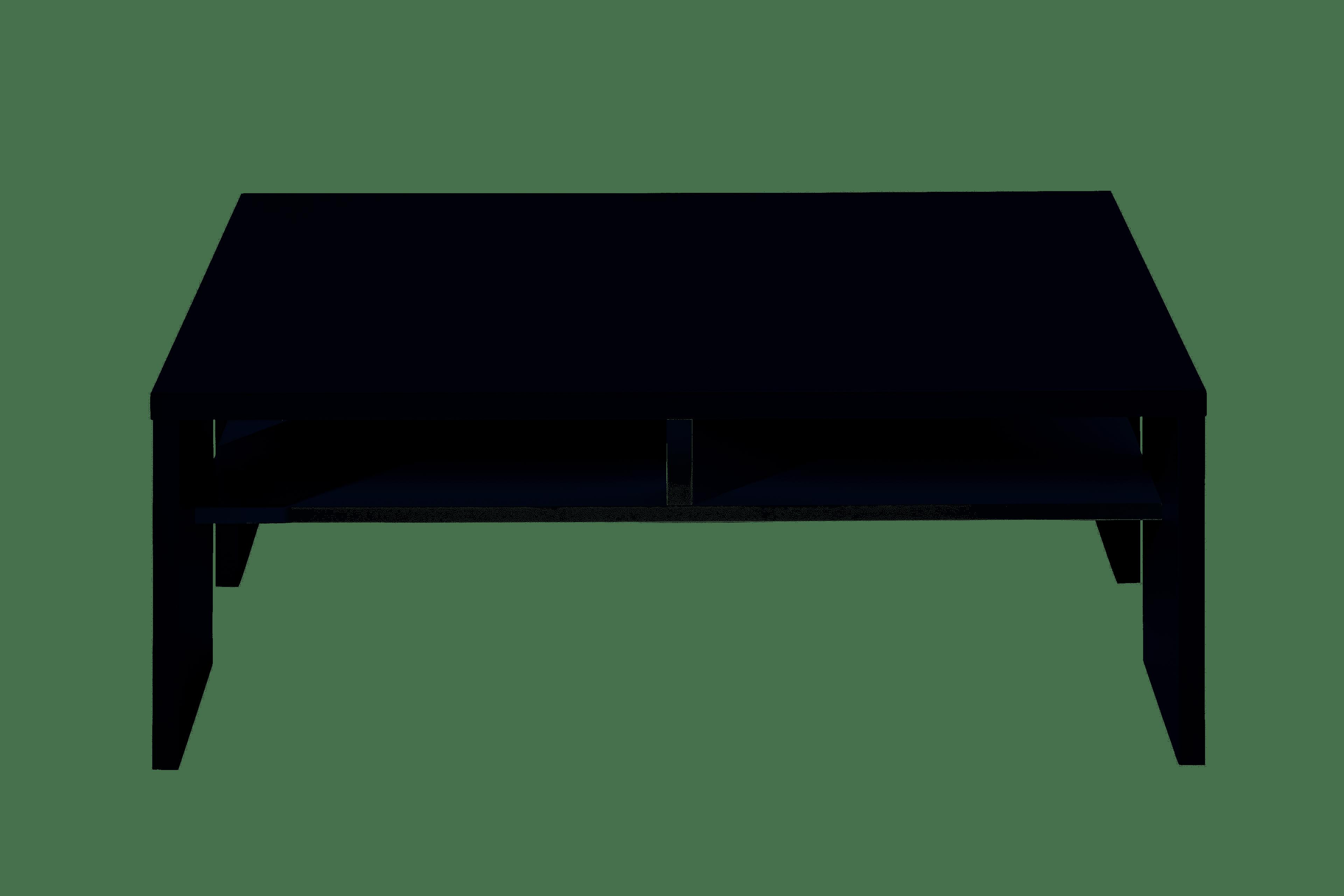 MEDIANA Couchtisch weiß matt/graphit matt B/H/T ca. 110/40/65 cm