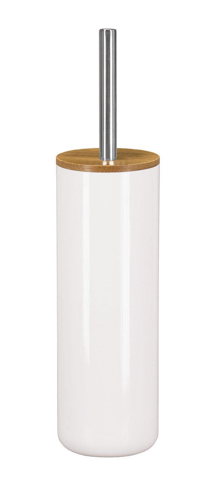 WC-Bürstenhalter Timber Weiss B:9,1cm