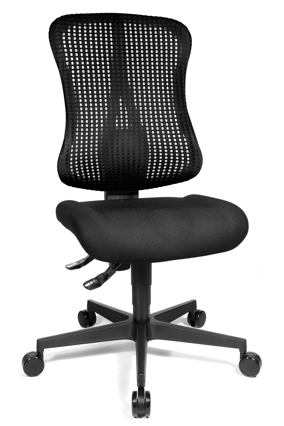 Drehstuhl Sitness Create,schwarz,Kunststoff / Polyamid