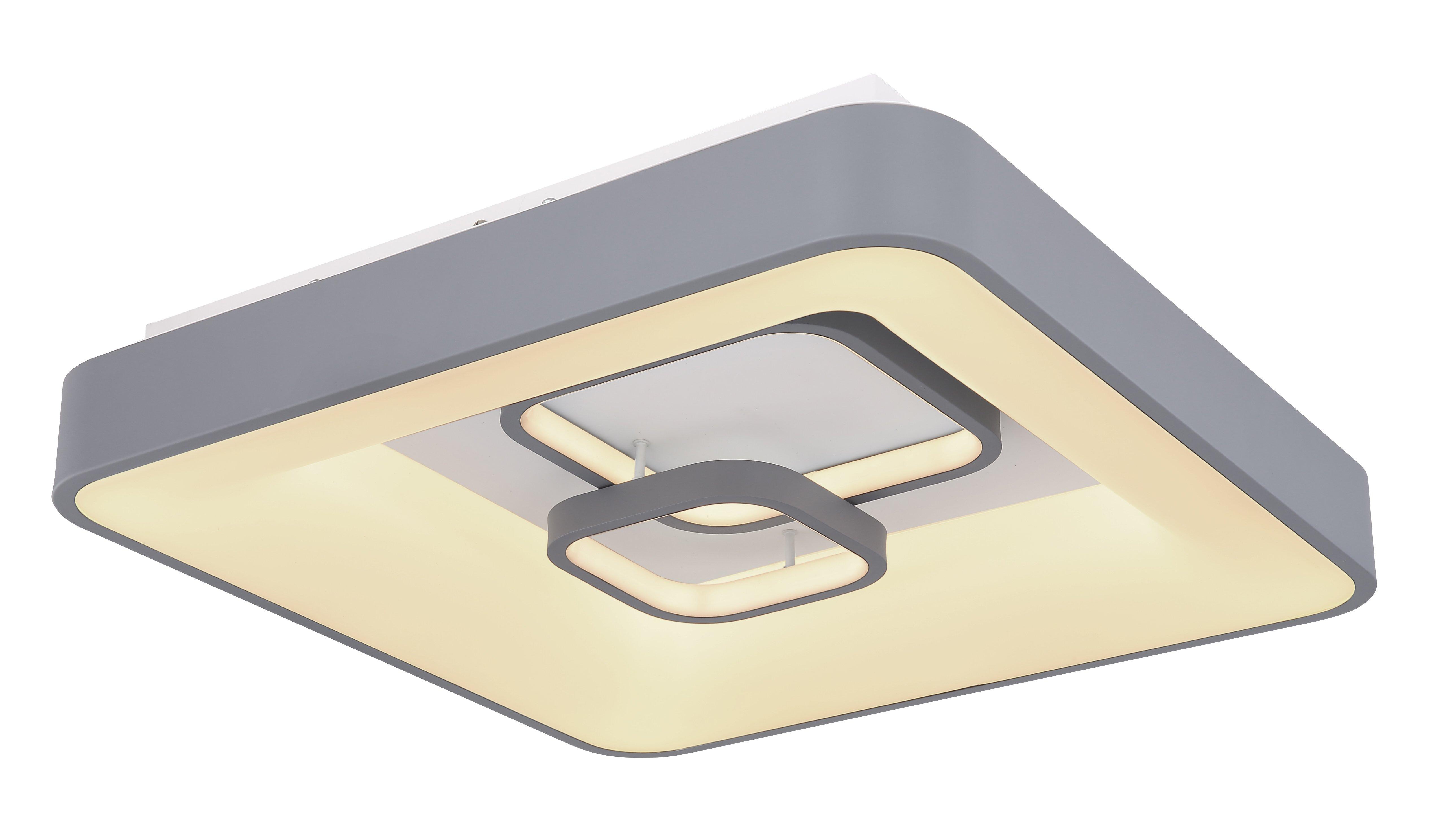 Deckl., 1-flg., 5000 lm, 50x10, Grau