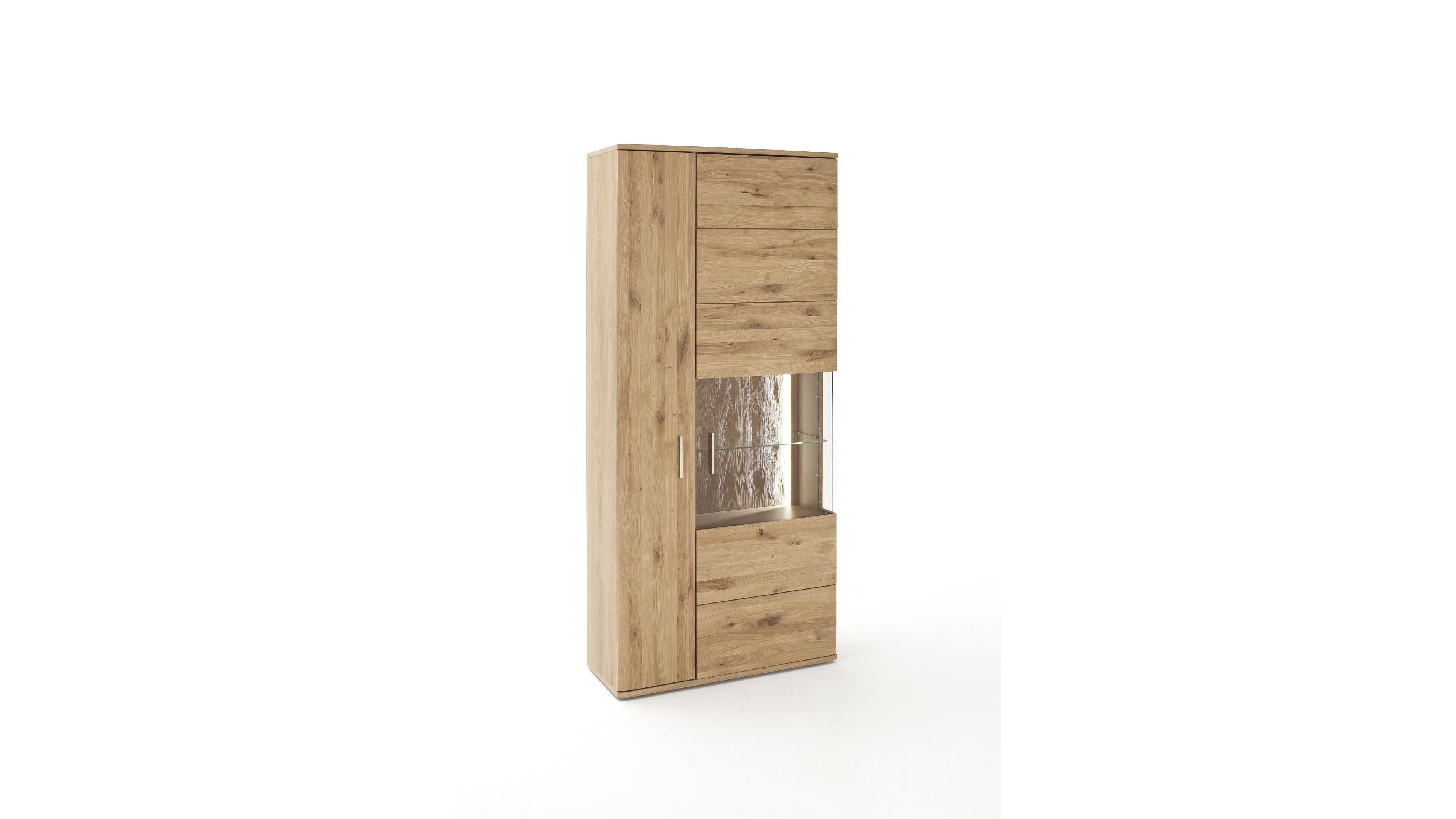 Vitrine Santori Holzfarben