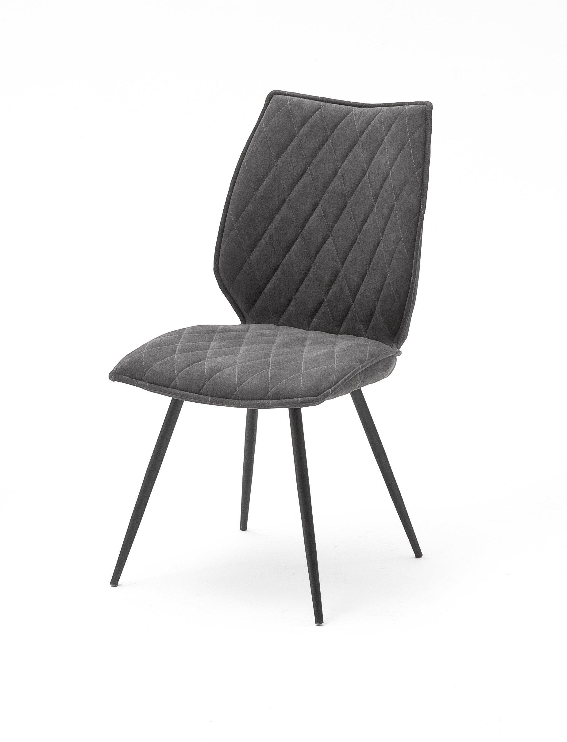 4 Fuß Stuhl, anthrazit