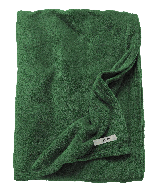 Mellows Plaid 150x200cm,darkgreen