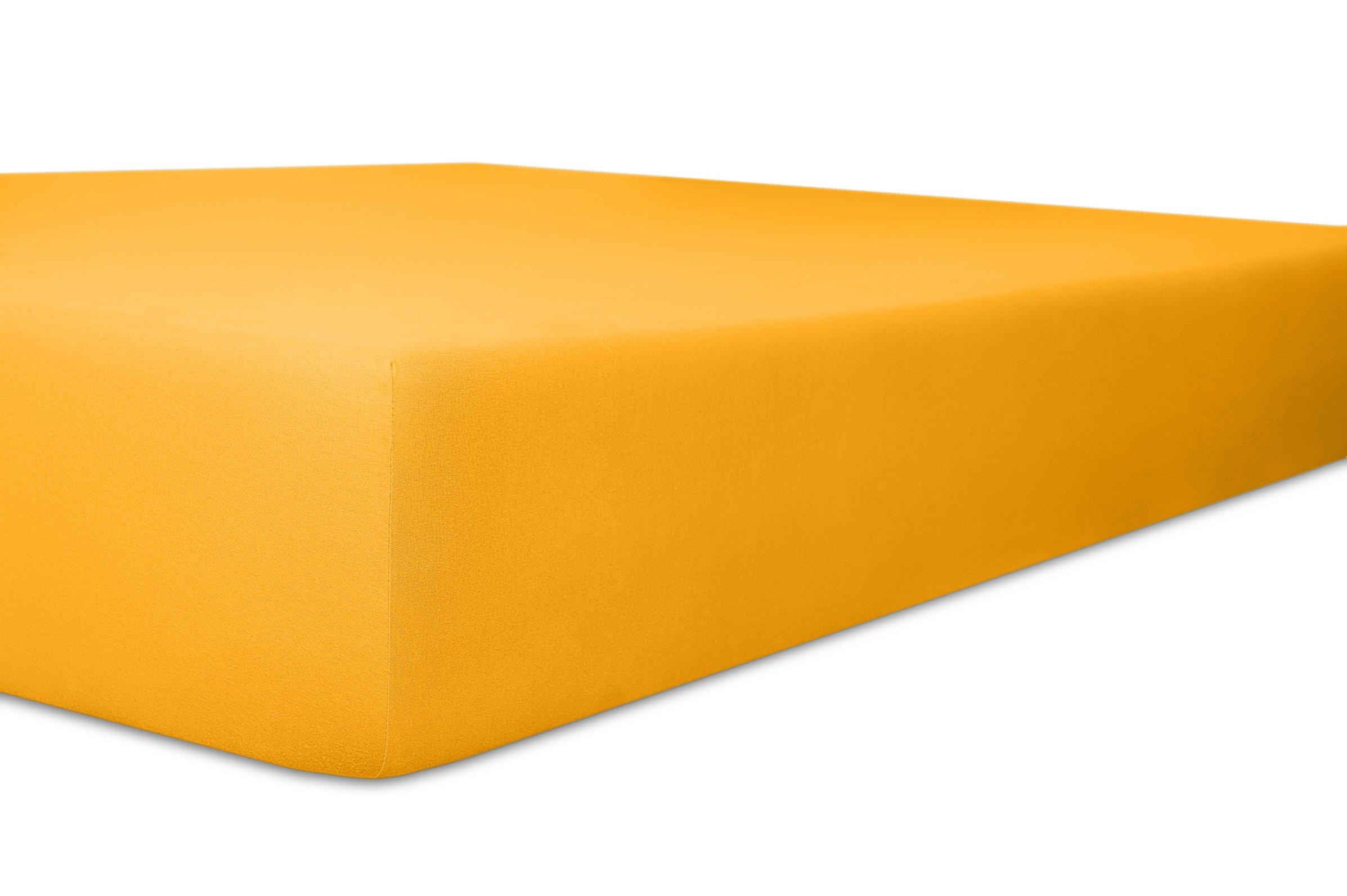 Spannbetttuch honig,140x200cm