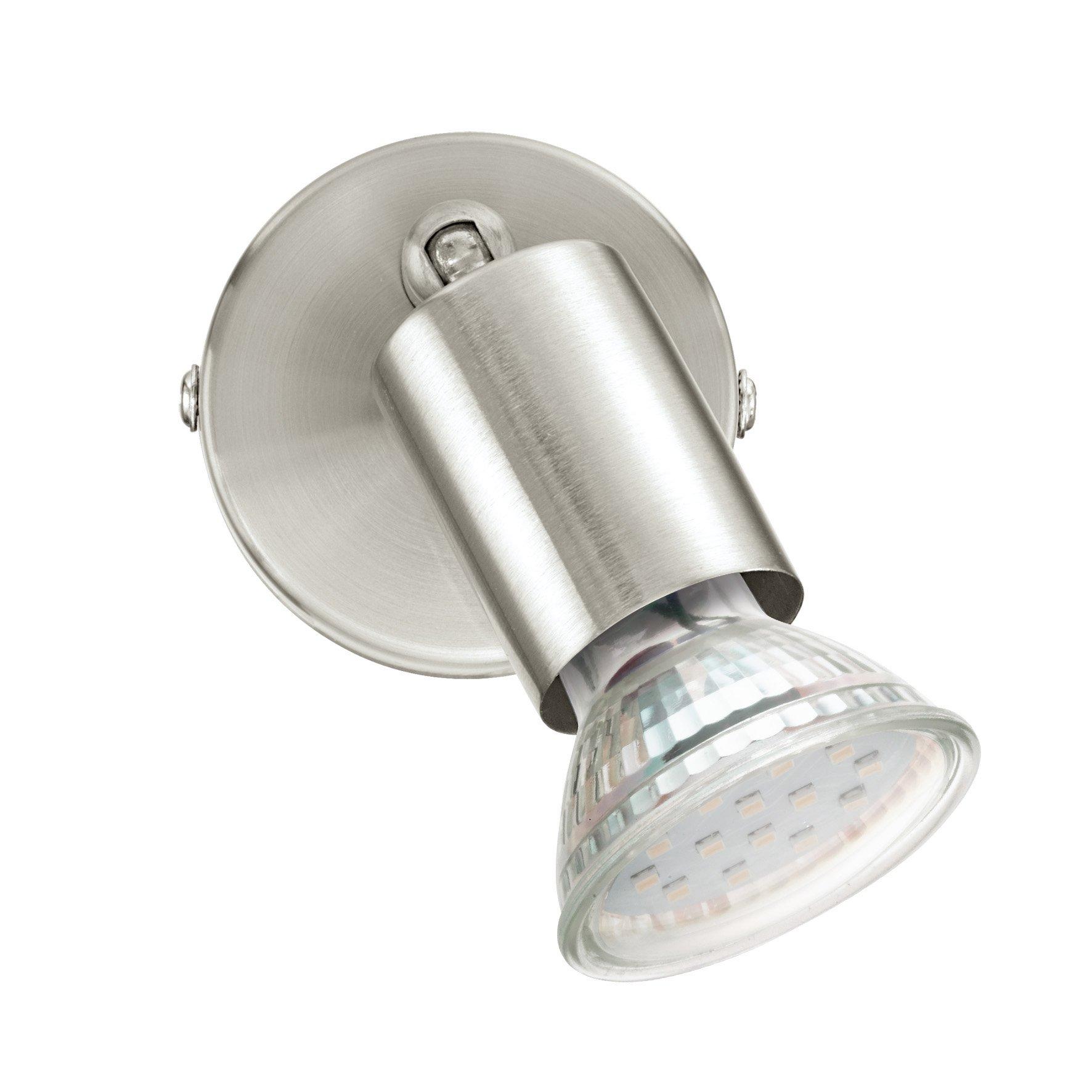 Wandleuchte BUZZ-LED nickel-matt