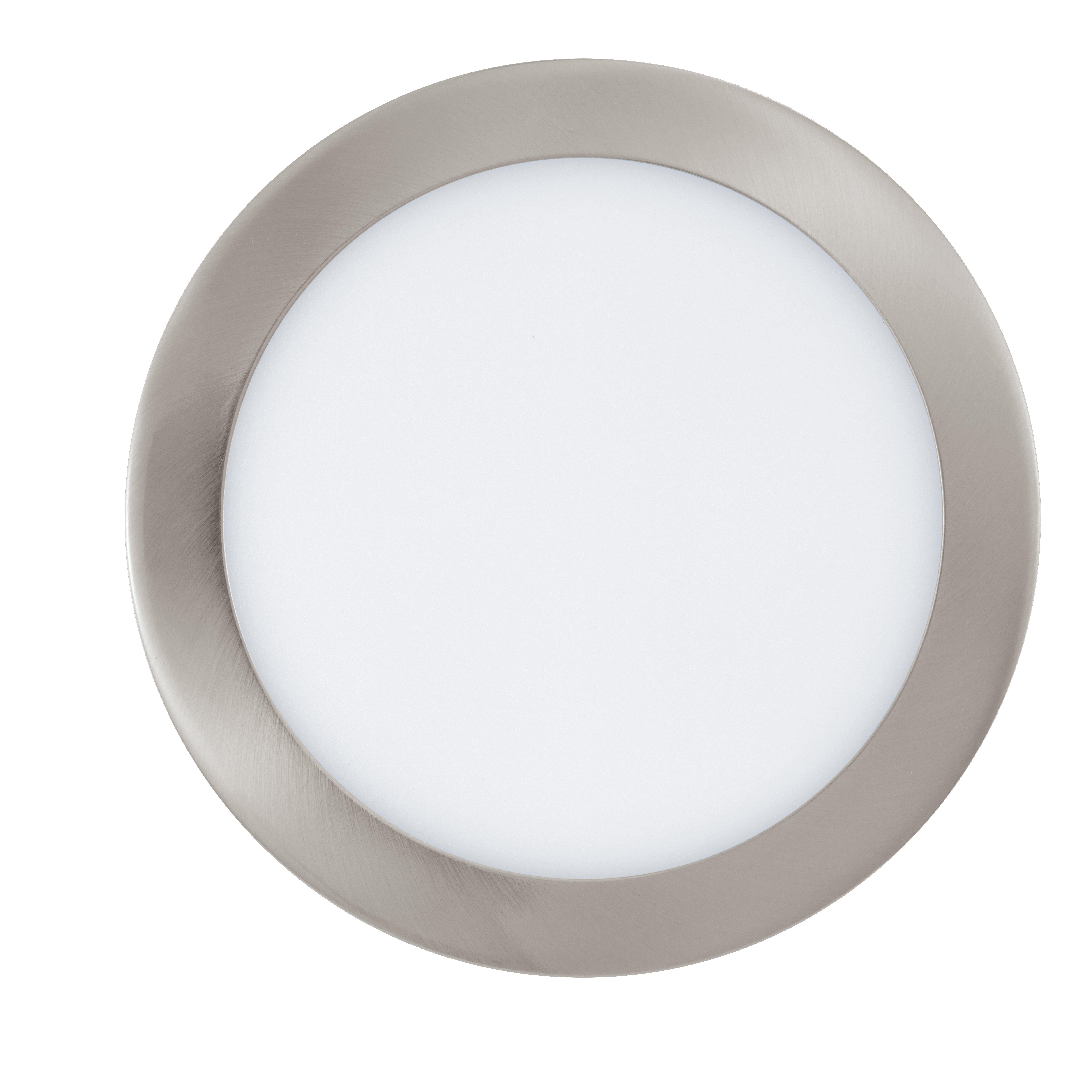 Einbauleuchte FUEVA-C nickel-matt