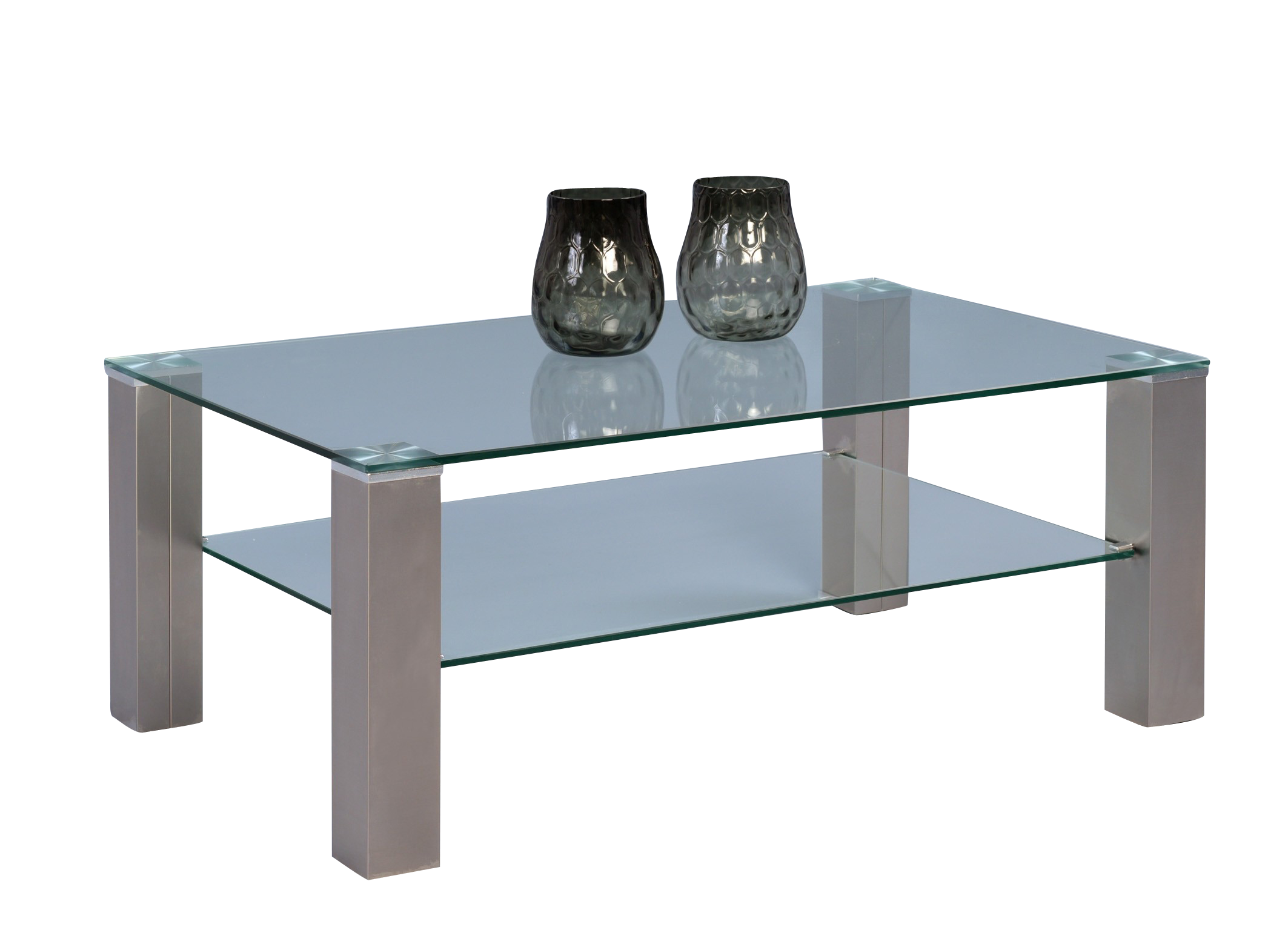 Couchtisch Cilo 2,transparent,Glas