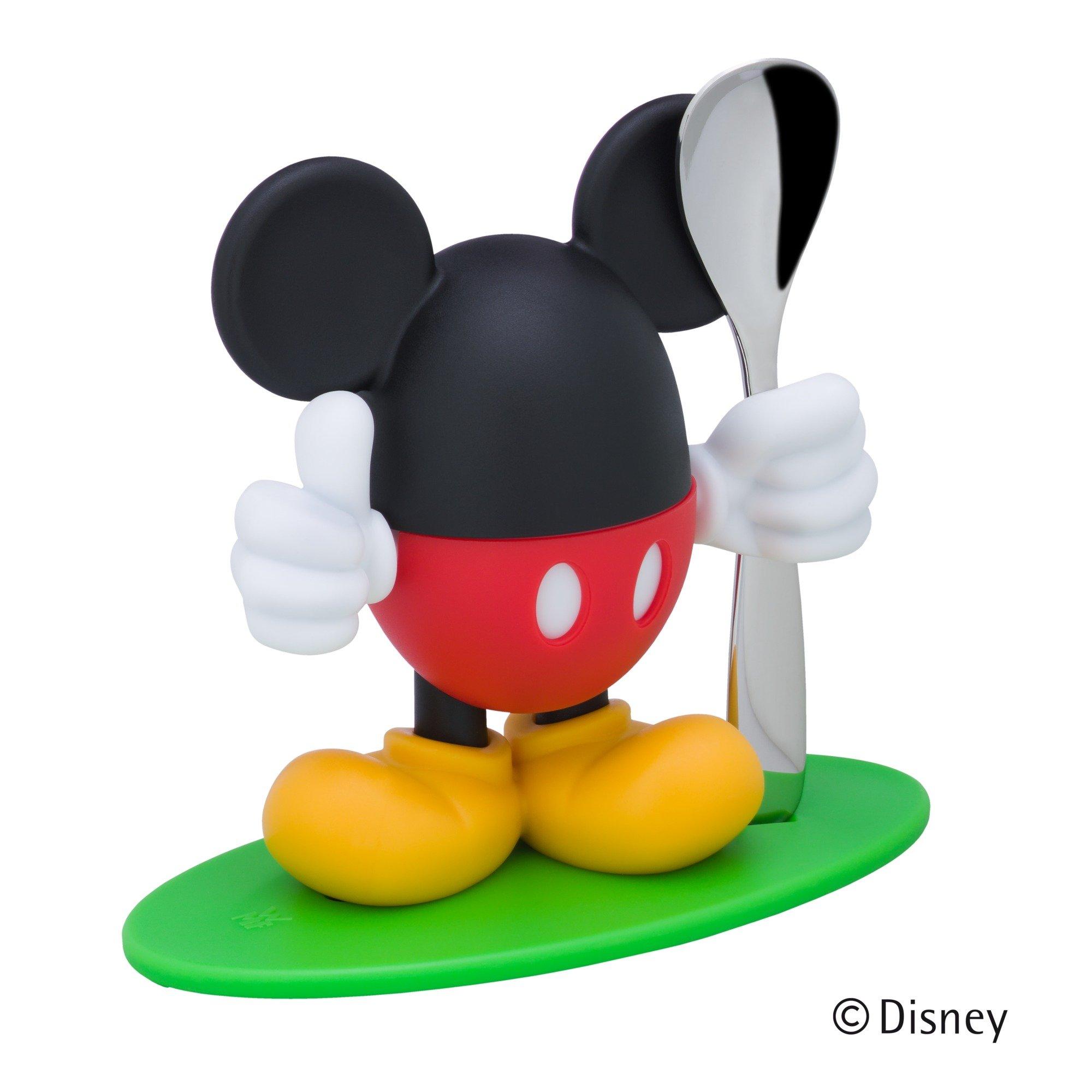 Eierbecher Mickey Mouse mit Löffel