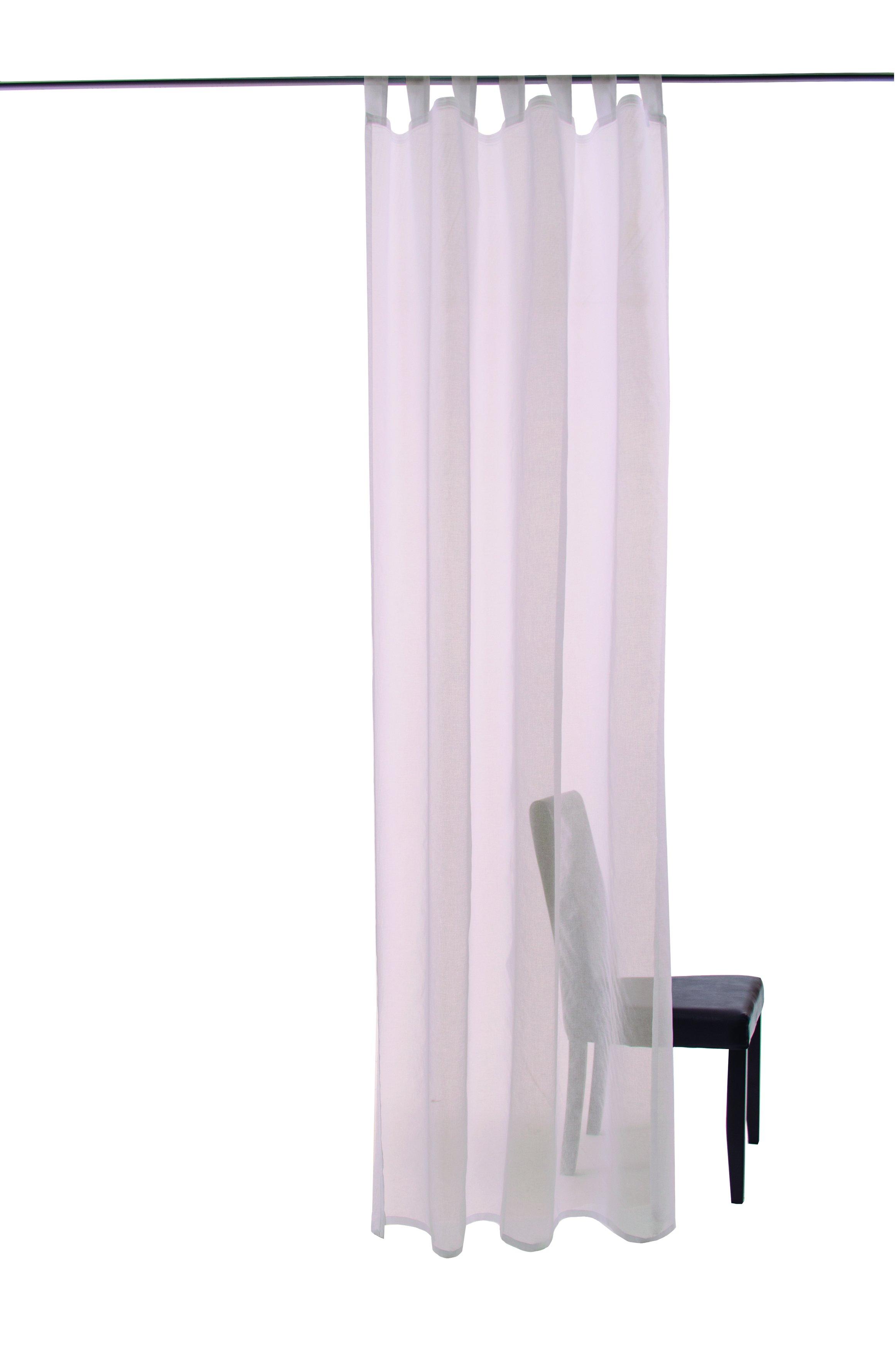 Vorhang mit Schlaufen