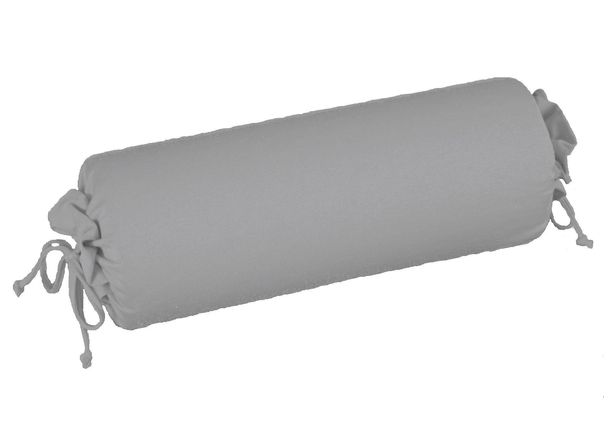 Edel-Zwirn-Jersey platin B15cm