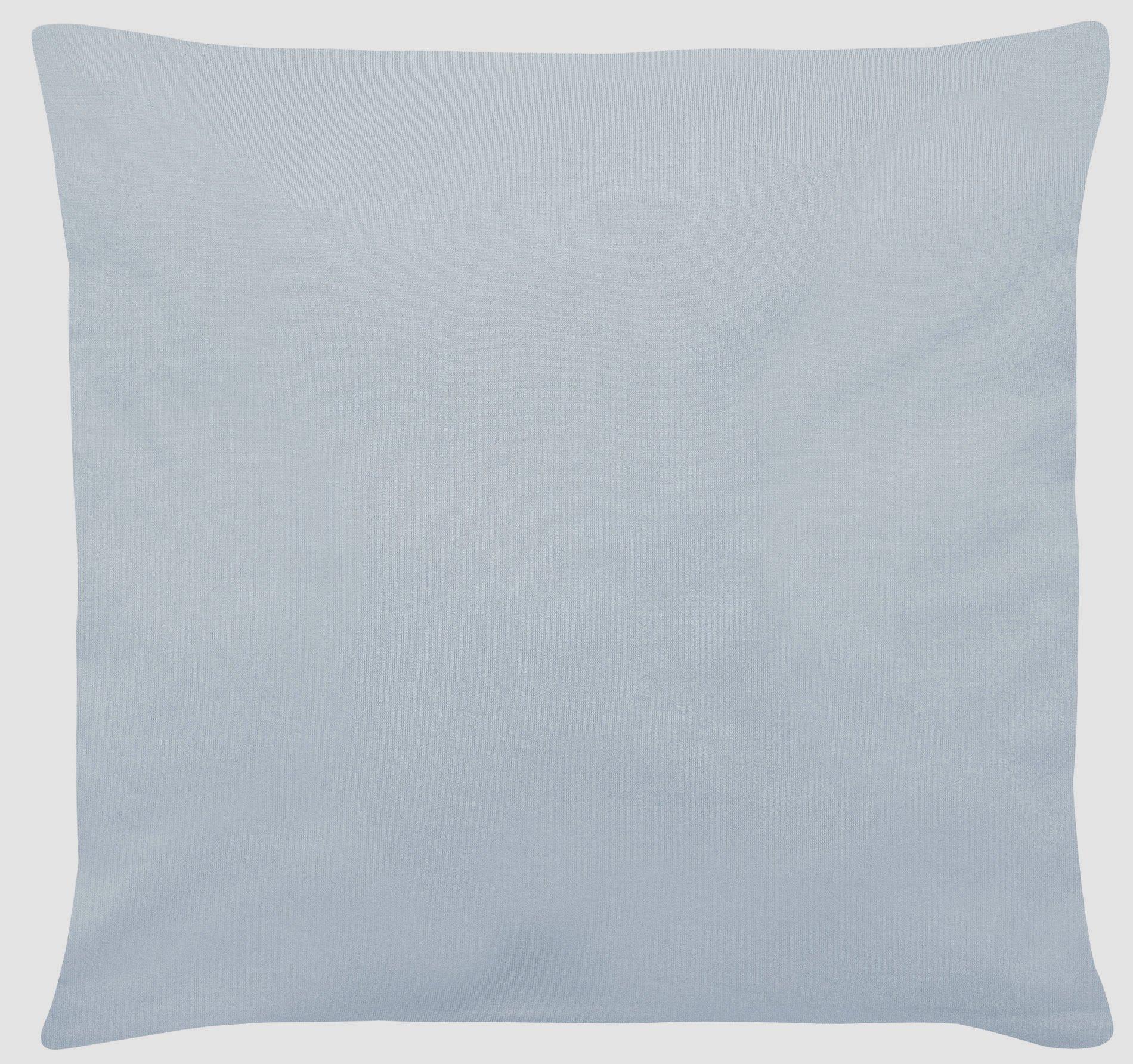 Edel-Zwirn-Jersey eisblau B40cm