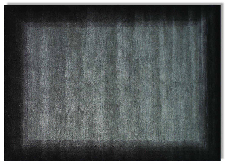 echter original handgeknüpfter Nepal-Teppich VINCIANO TAMI dk.grau
