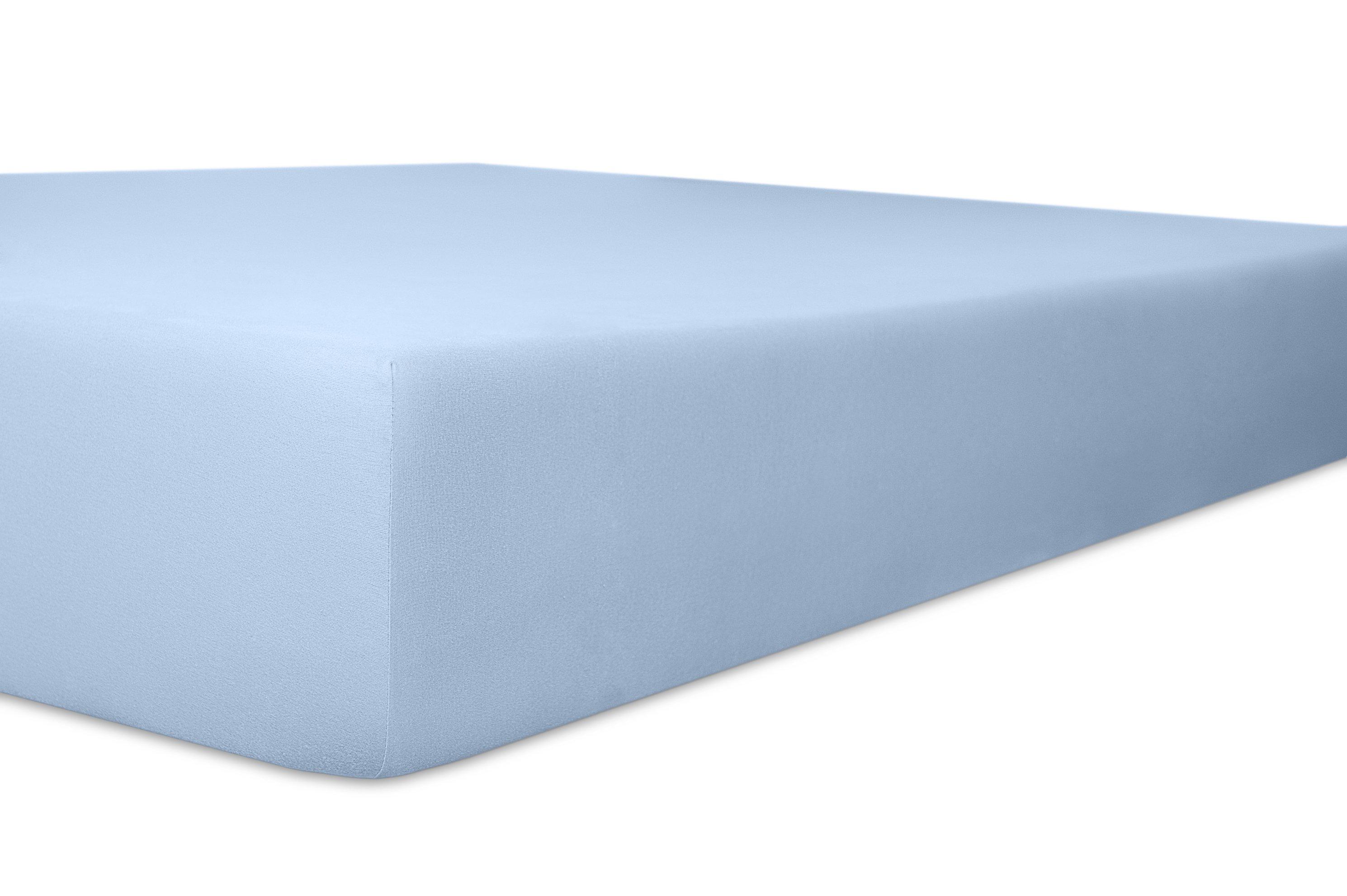 Spannbetttuch hellblau,180x200cm