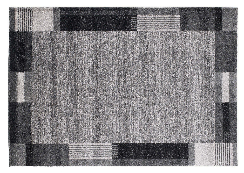 moderner Designer Teppich VILLA MODA grau