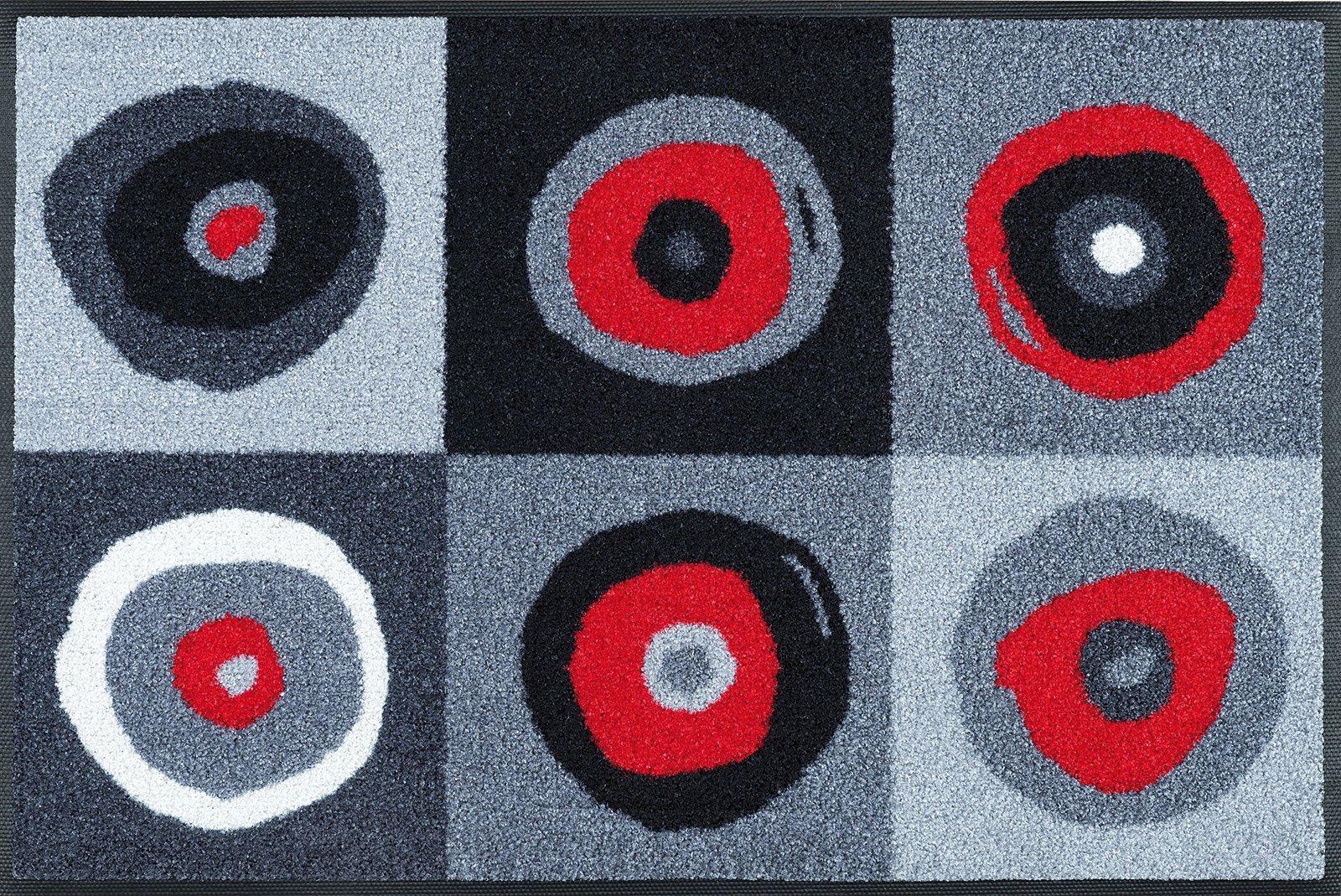 Matte, Grau 50x75