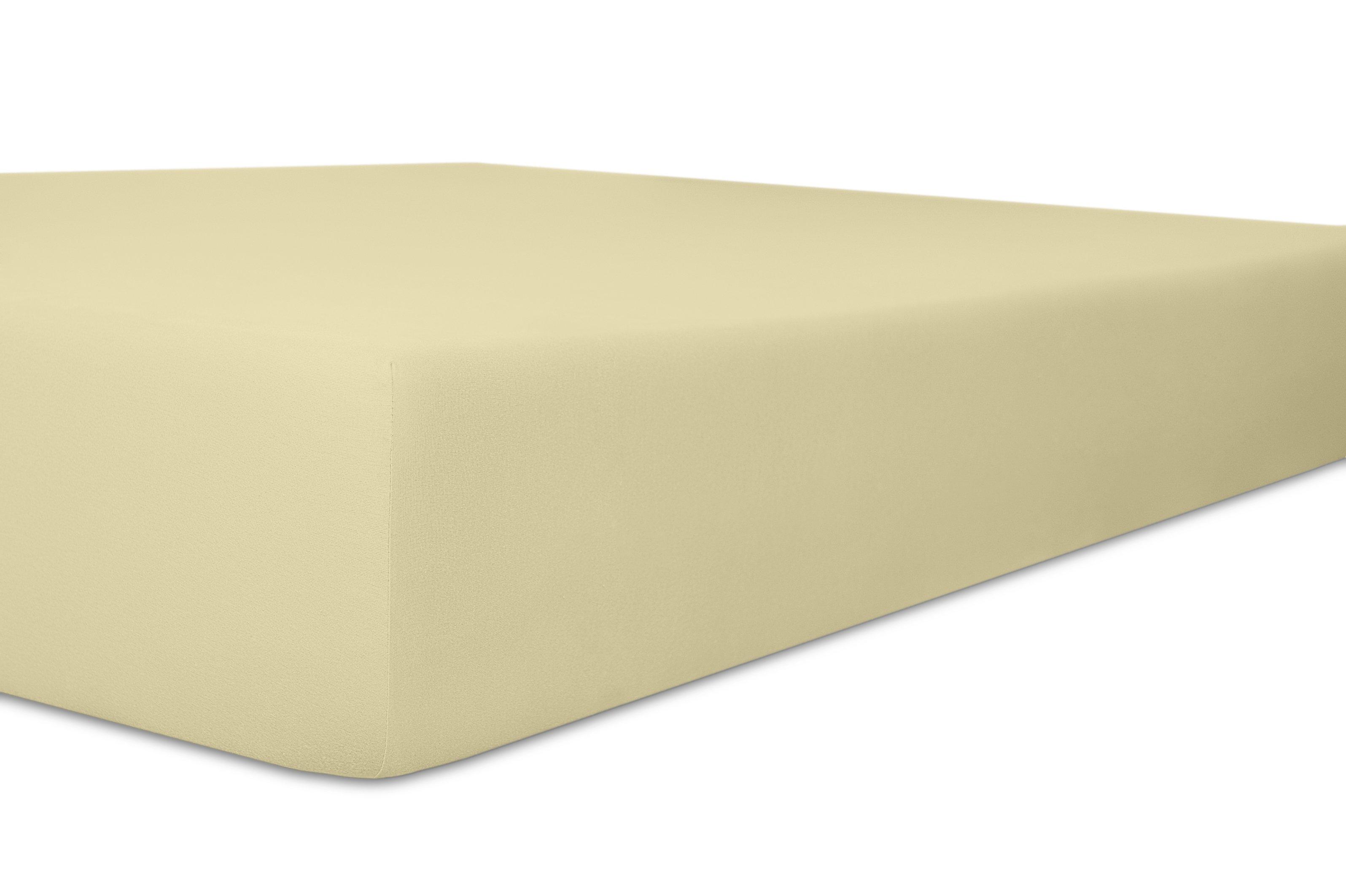 Spannbetttuch Standard natur 96 % Baumwolle / 4% Elasthan