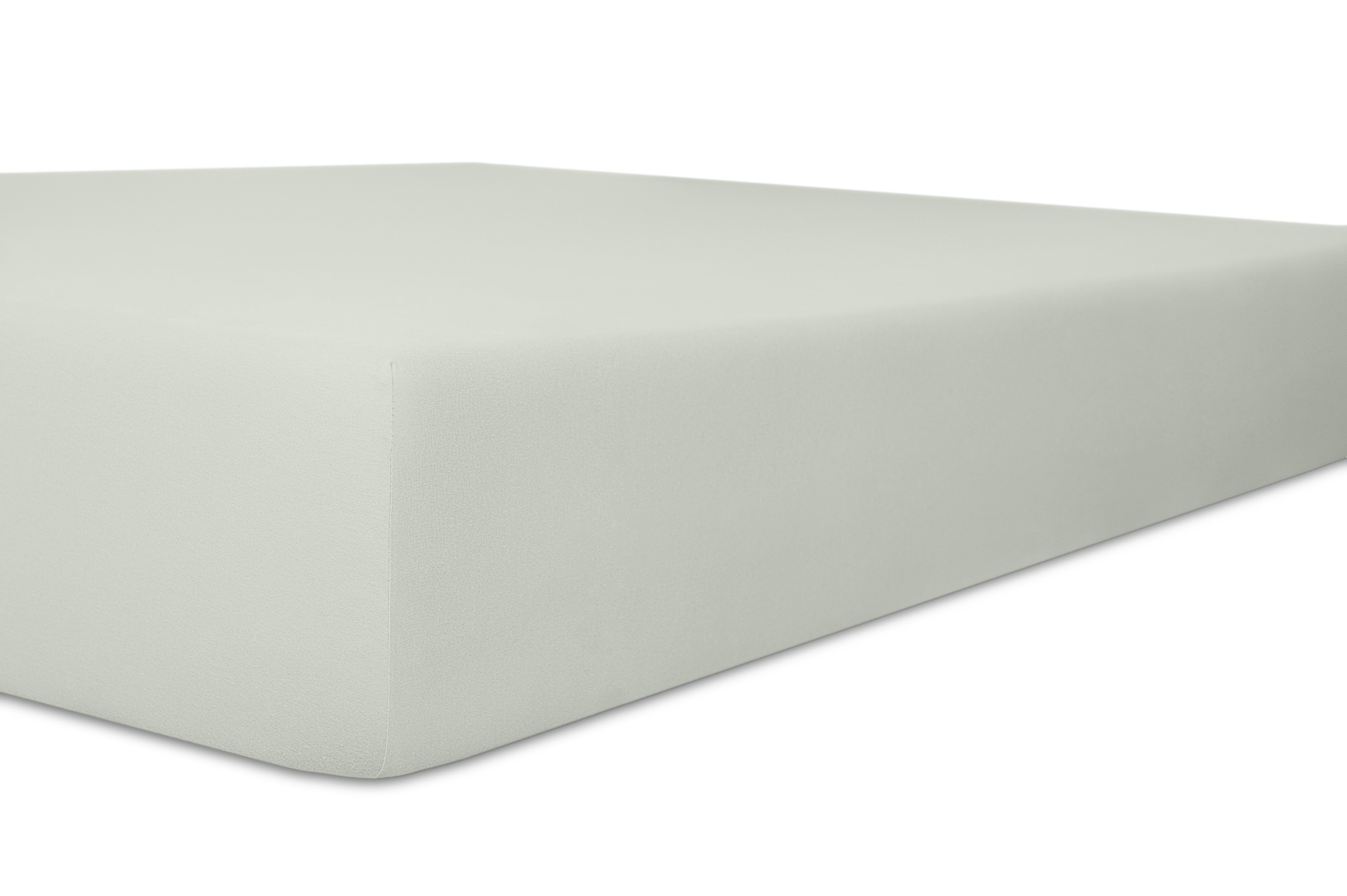 Spannbetttuch Standard platin 50% Baumwolle / 45% Modal / 5% Elasthan