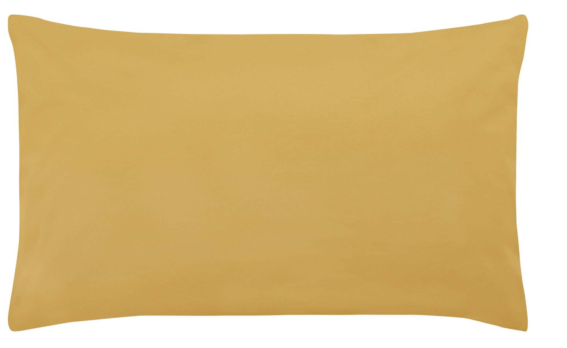 Edel-Zwirn-Jersey curry B40cm